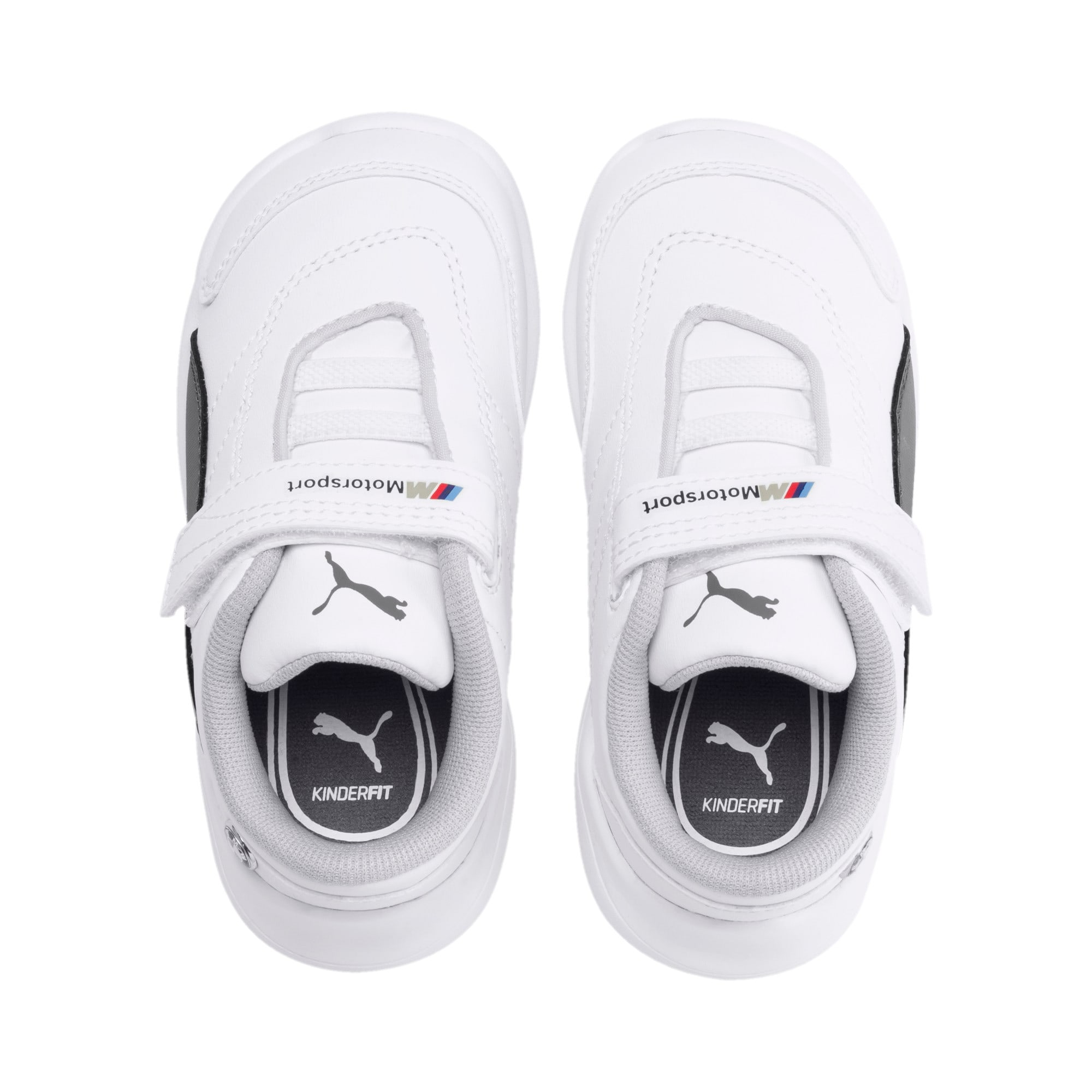 Miniatura 6 de ZapatosBMW MMotorsportKart Cat III para bebé, Puma White-Smoked Pearl, mediano