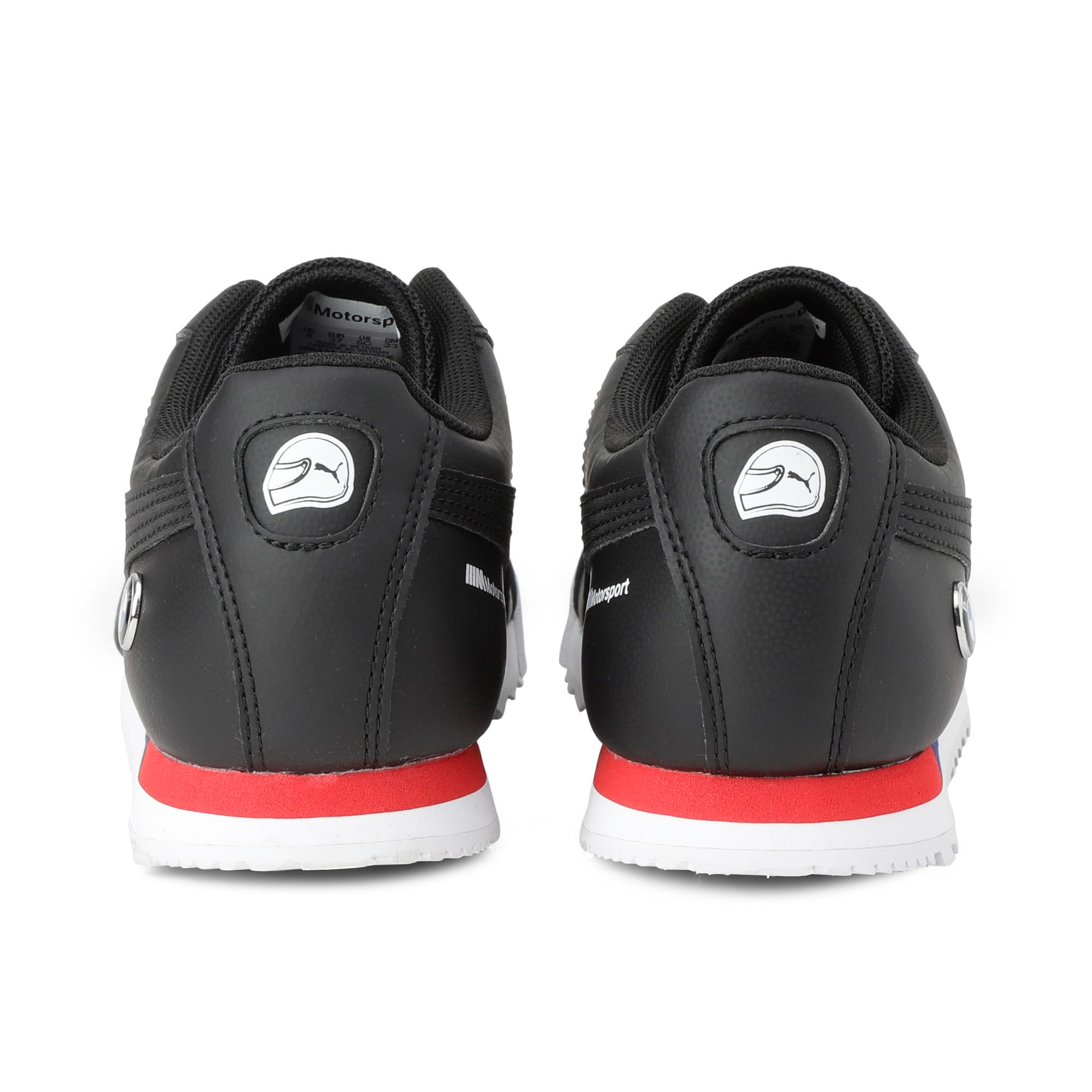 Thumbnail 3 of BMW Motorsport Roma Youth Trainers, Puma Black-Puma Black, medium-IND
