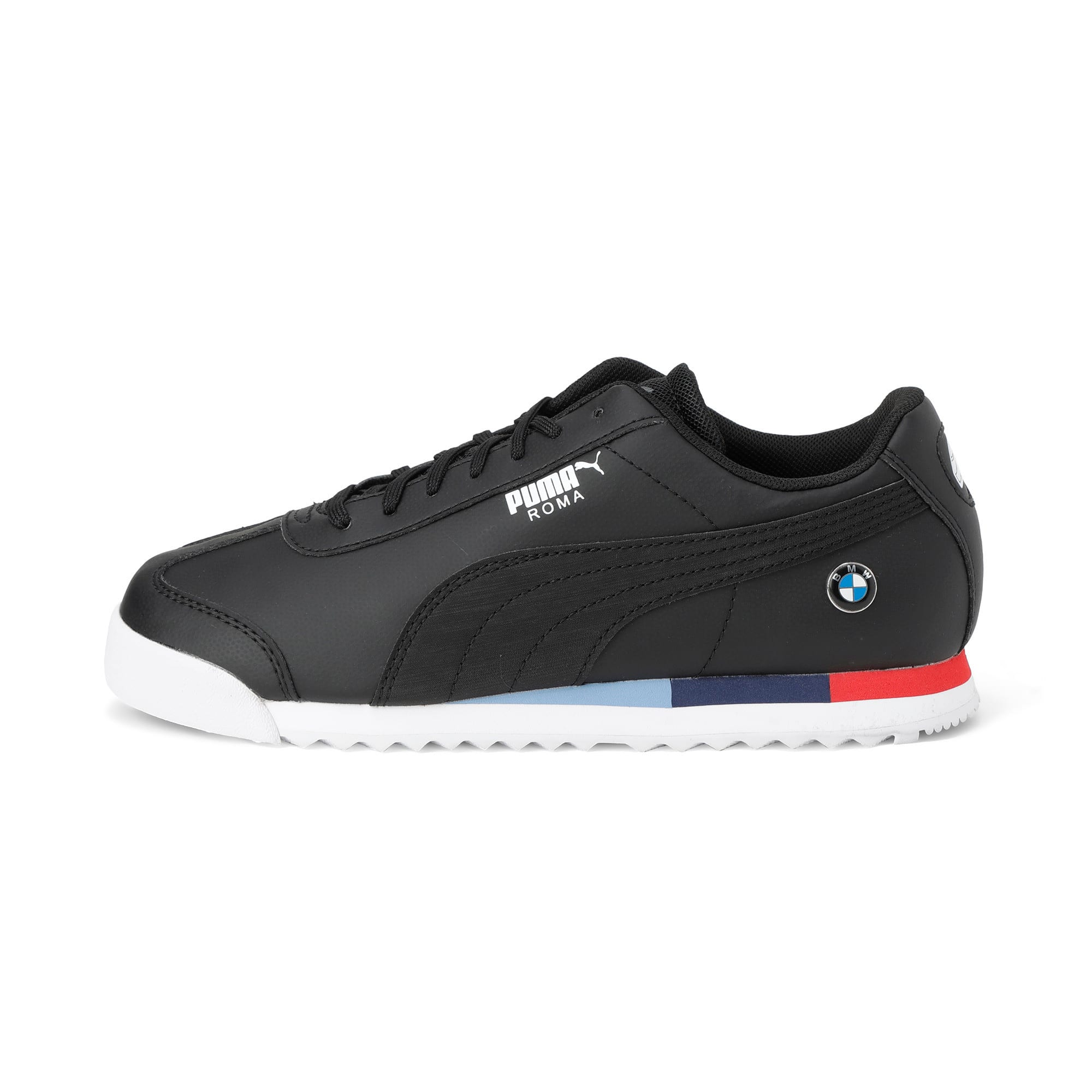 Thumbnail 1 of BMW Motorsport Roma Youth Trainers, Puma Black-Puma Black, medium-IND