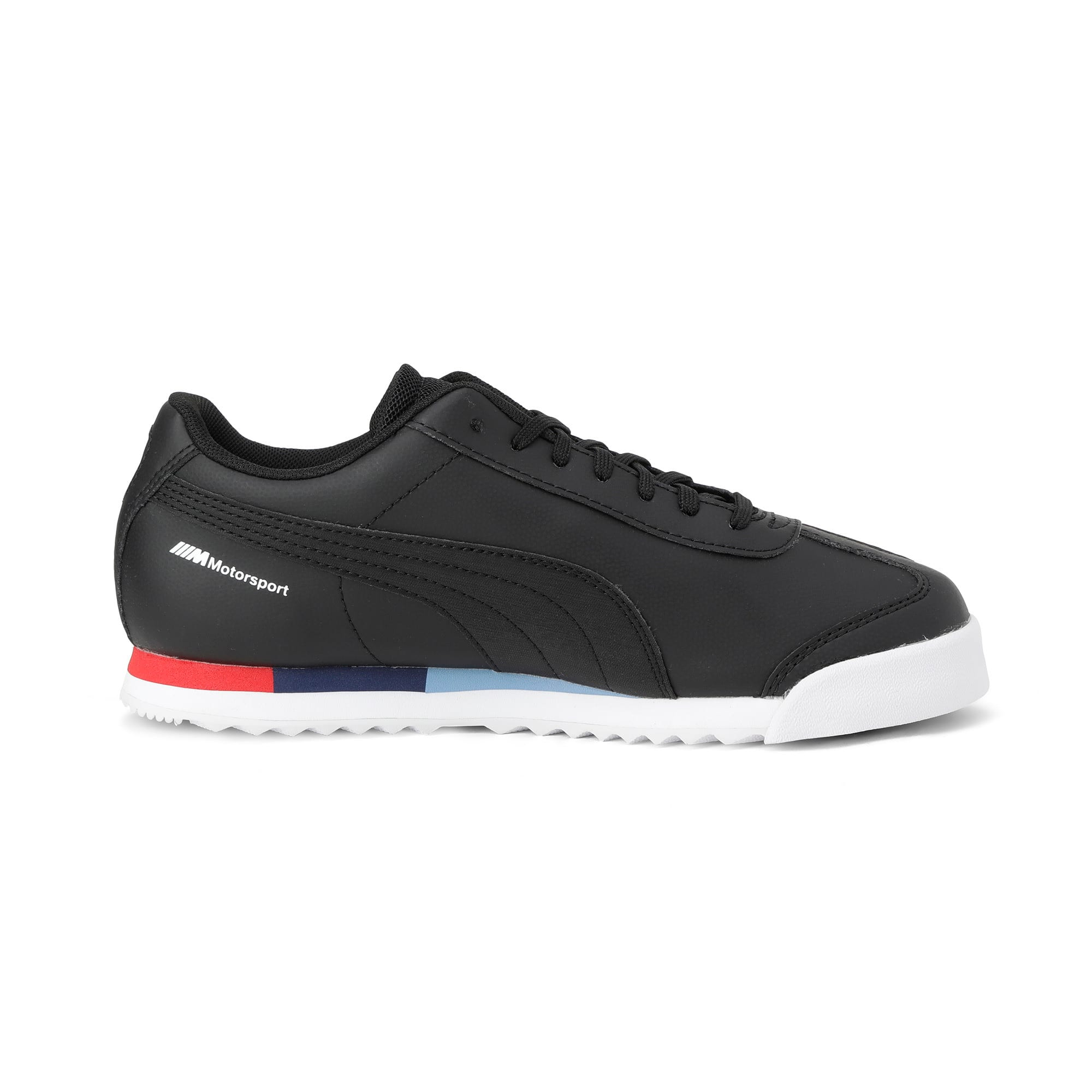 Thumbnail 5 of BMW Motorsport Roma Youth Trainers, Puma Black-Puma Black, medium-IND