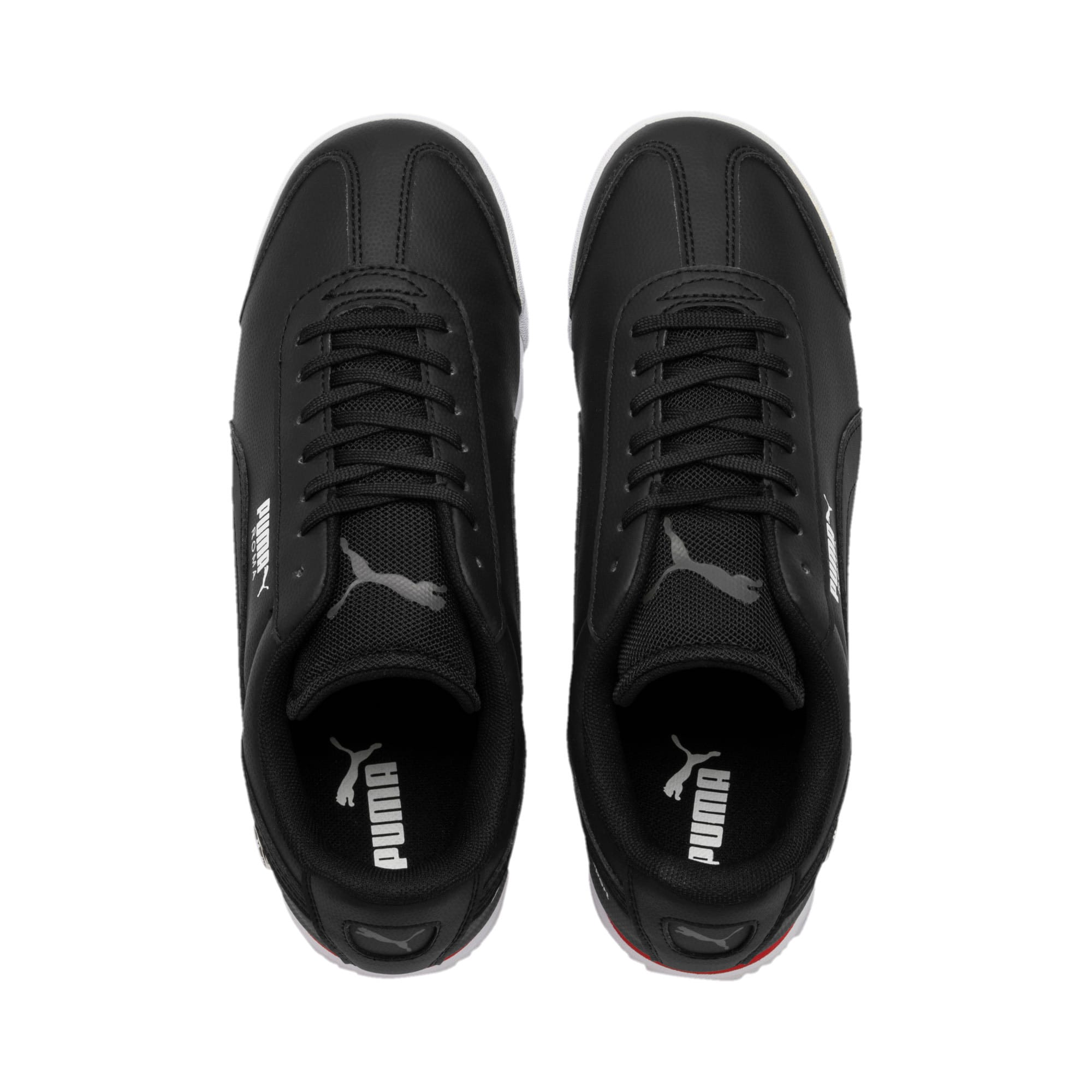 Thumbnail 6 of BMW Motorsport Roma Youth Trainers, Puma Black-Puma Black, medium-IND