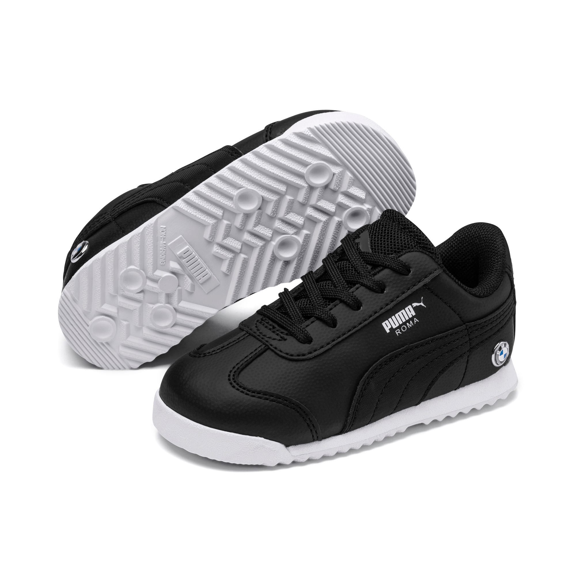 Thumbnail 2 of BMW M Motorsport Roma Toddler Shoes, Puma Black-Puma Black, medium