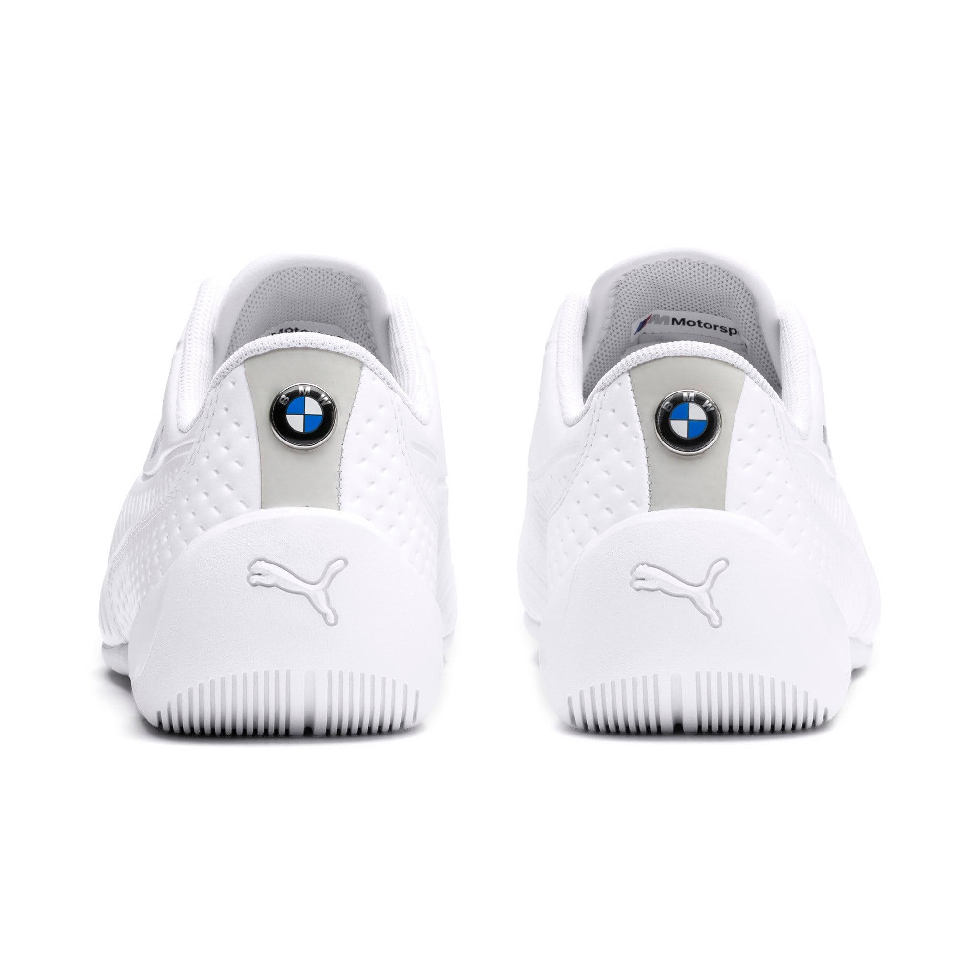 Thumbnail 3 of BMW M Motorsport Drift Cat 7S Ultra Youth sneakers, Puma White-Puma White, medium