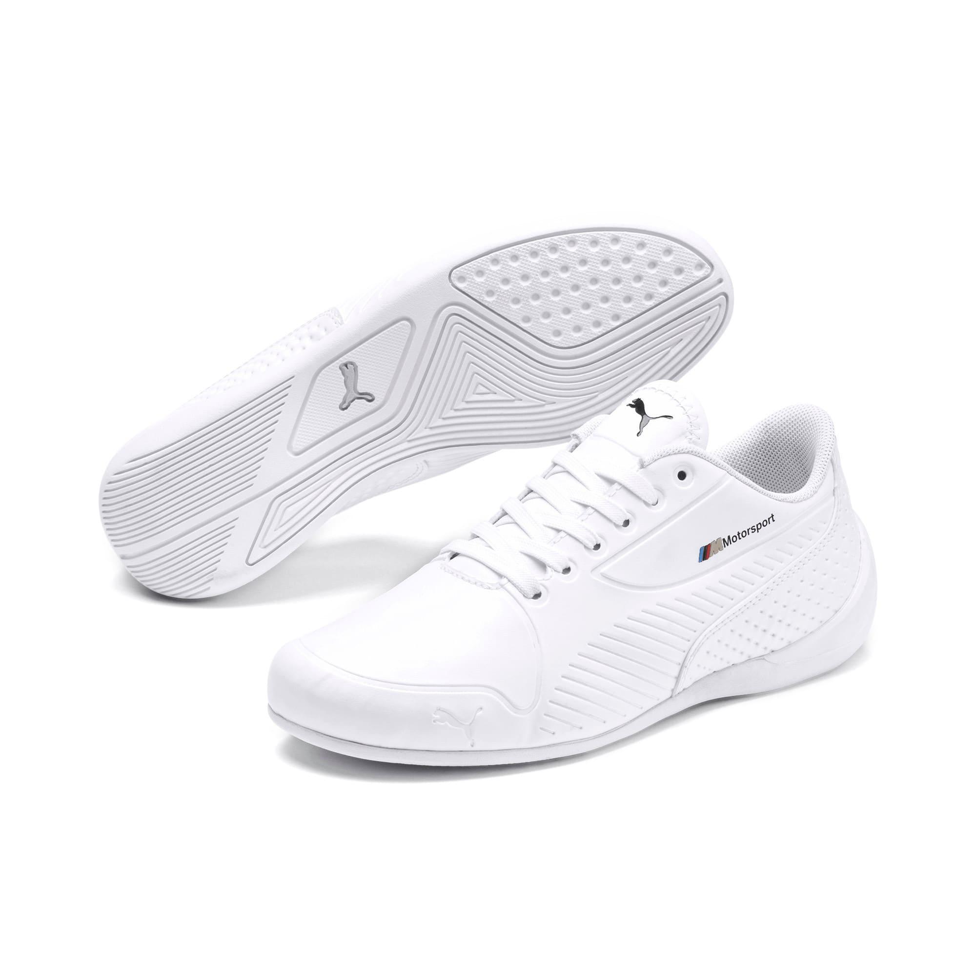 Thumbnail 2 of BMW M Motorsport Drift Cat 7S Ultra Youth sneakers, Puma White-Puma White, medium
