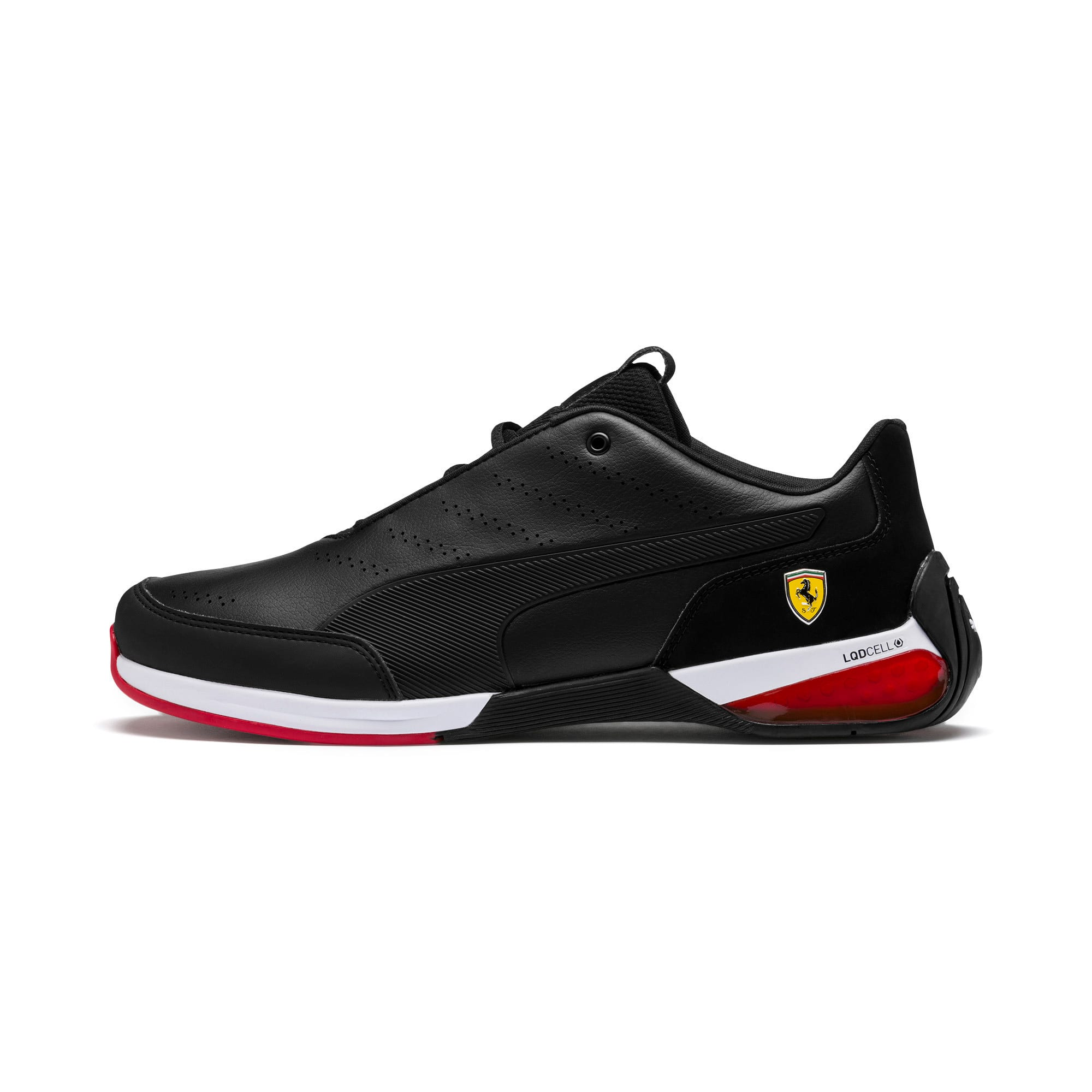 Ferrari Kart Cat X Trainers, Puma Black-Puma Black, large