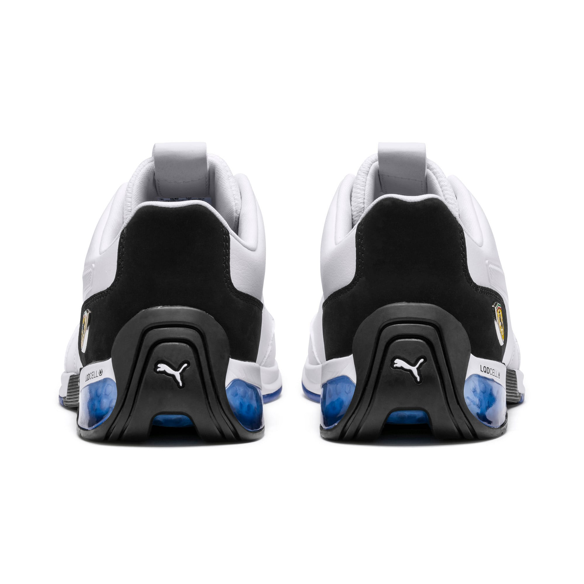 Thumbnail 4 of Scuderia Ferrari Kart Cat X Training Shoes, Puma White-Puma Black, medium