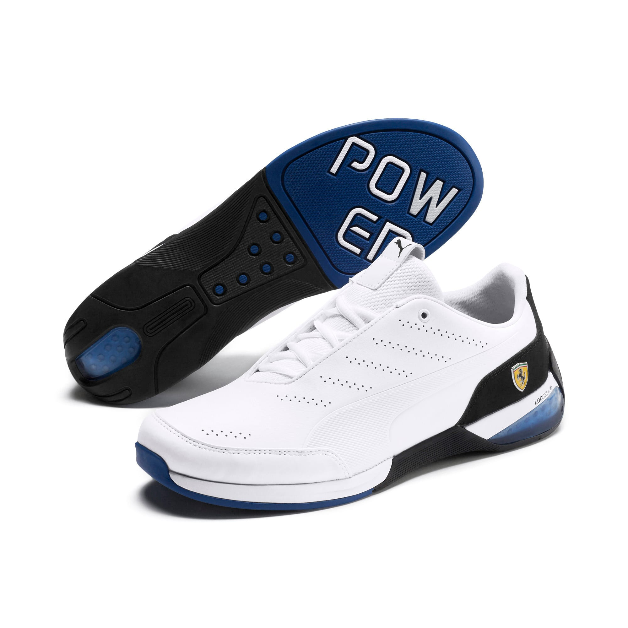 Thumbnail 4 of Ferrari Kart Cat X Trainers, Puma White-Puma Black, medium-IND