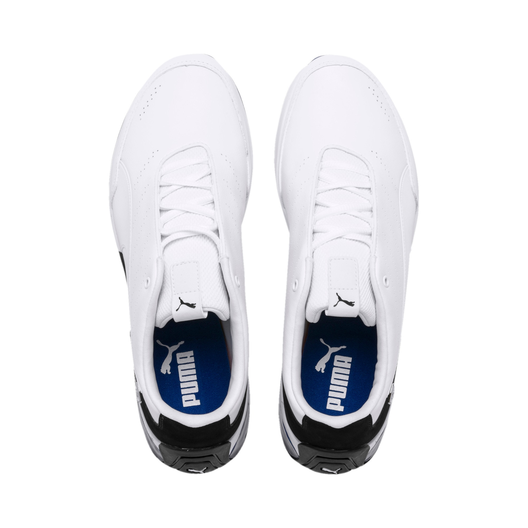 Thumbnail 8 of Ferrari Kart Cat X Trainers, Puma White-Puma Black, medium-IND