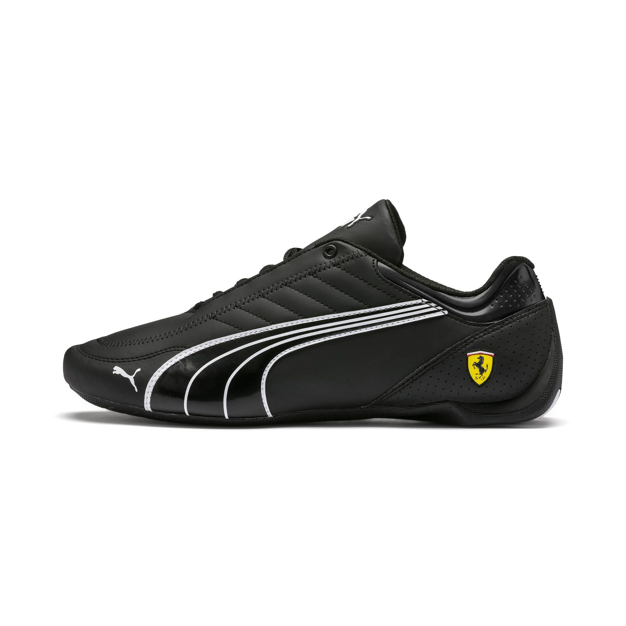 Thumbnail 1 of Ferrari Future Kart Cat Trainers, Black-Puma White-Rosso Corsa, medium