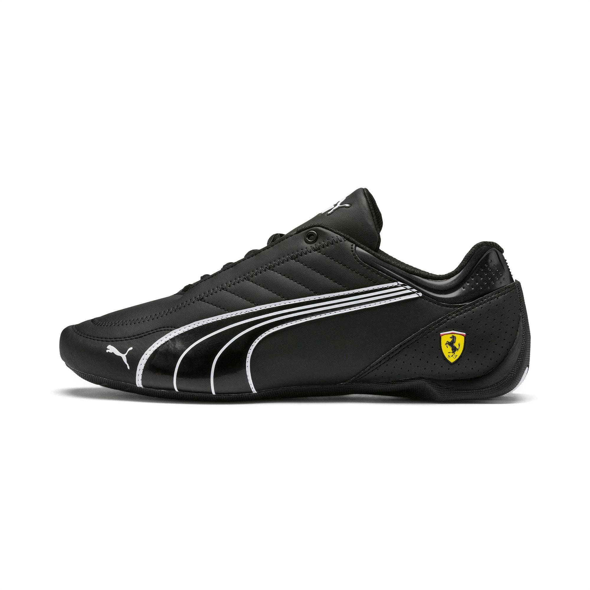 Ferrari Future Kart Cat Trainers, Black-Puma White-Rosso Corsa, large-SEA