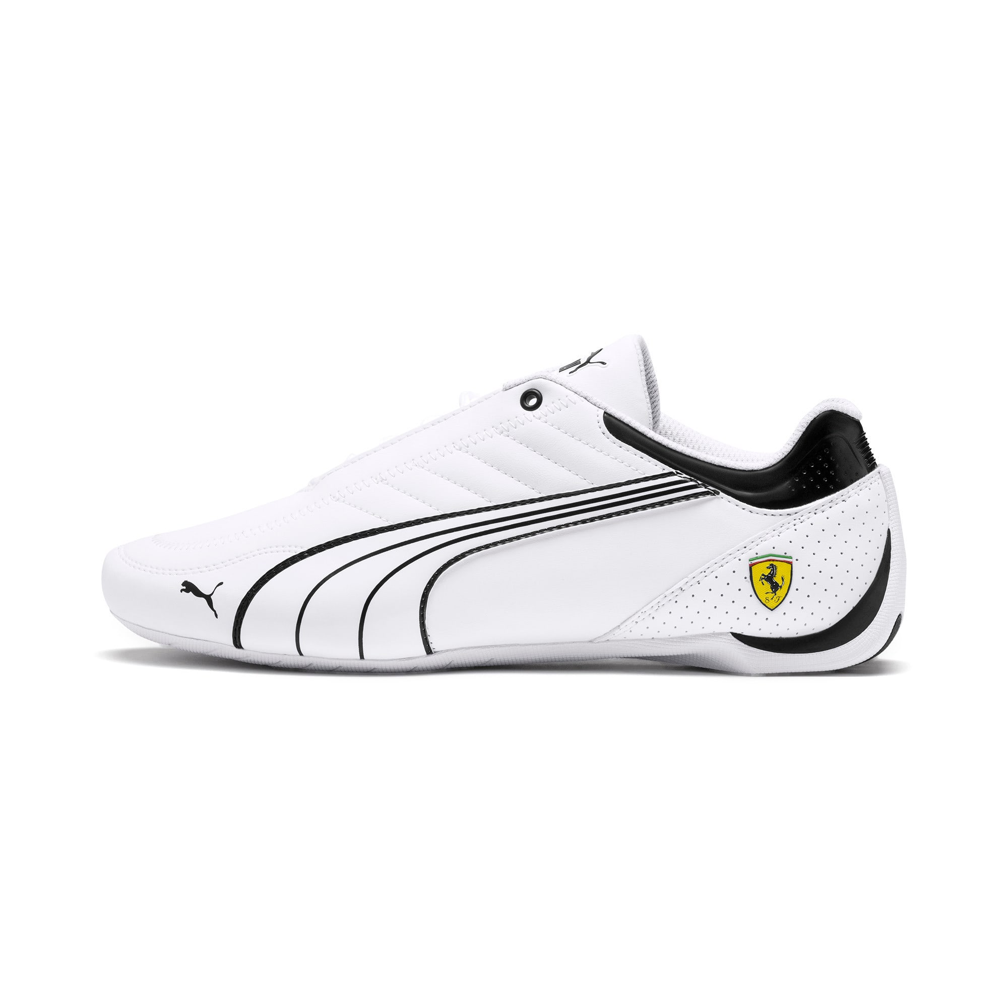 Thumbnail 1 of Scuderia Ferrari Future Kart Cat Shoes, White-Black-Galaxy Blue, medium