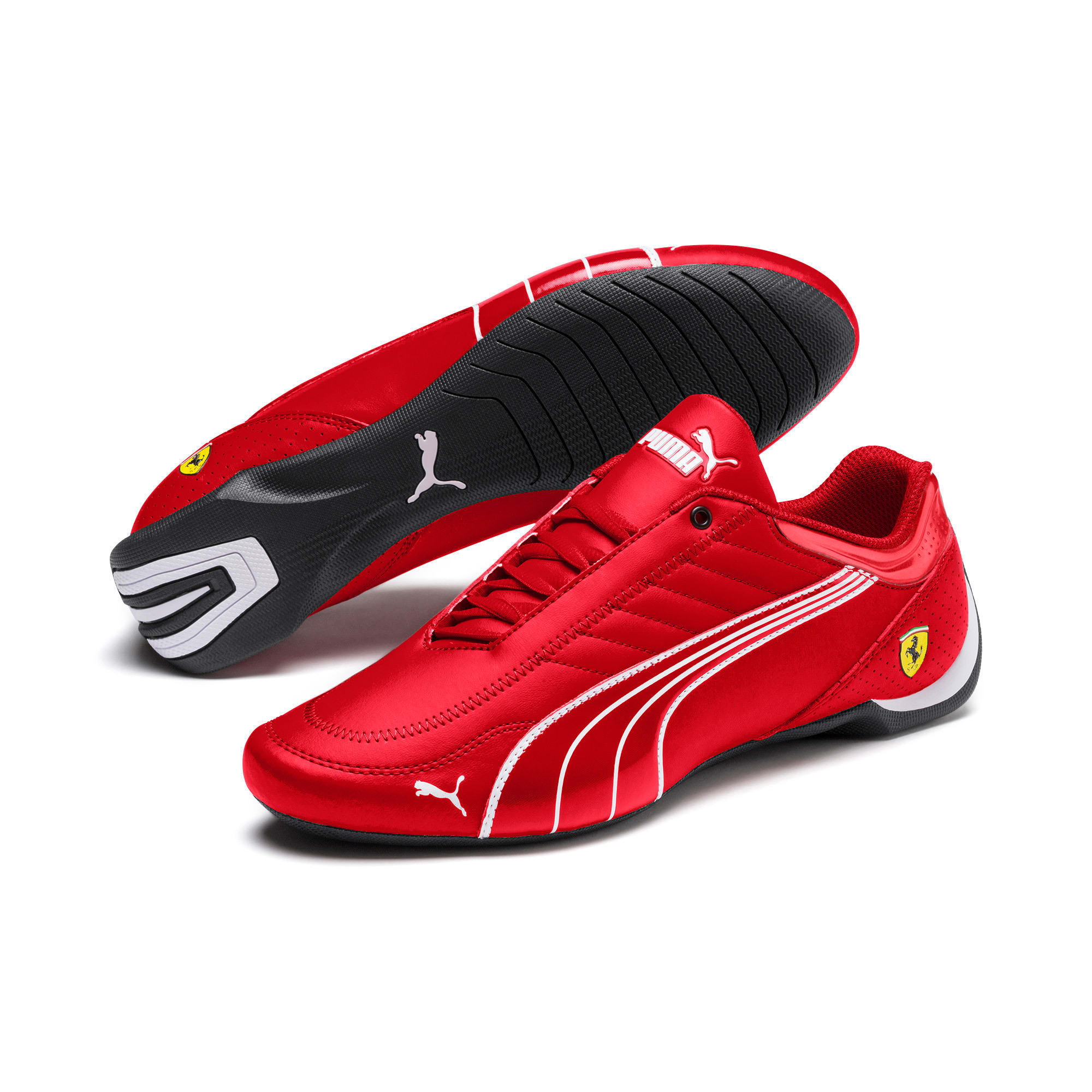 Thumbnail 4 of Ferrari Future Kart Cat Trainers, Rosso Corsa-Puma Black, medium-IND