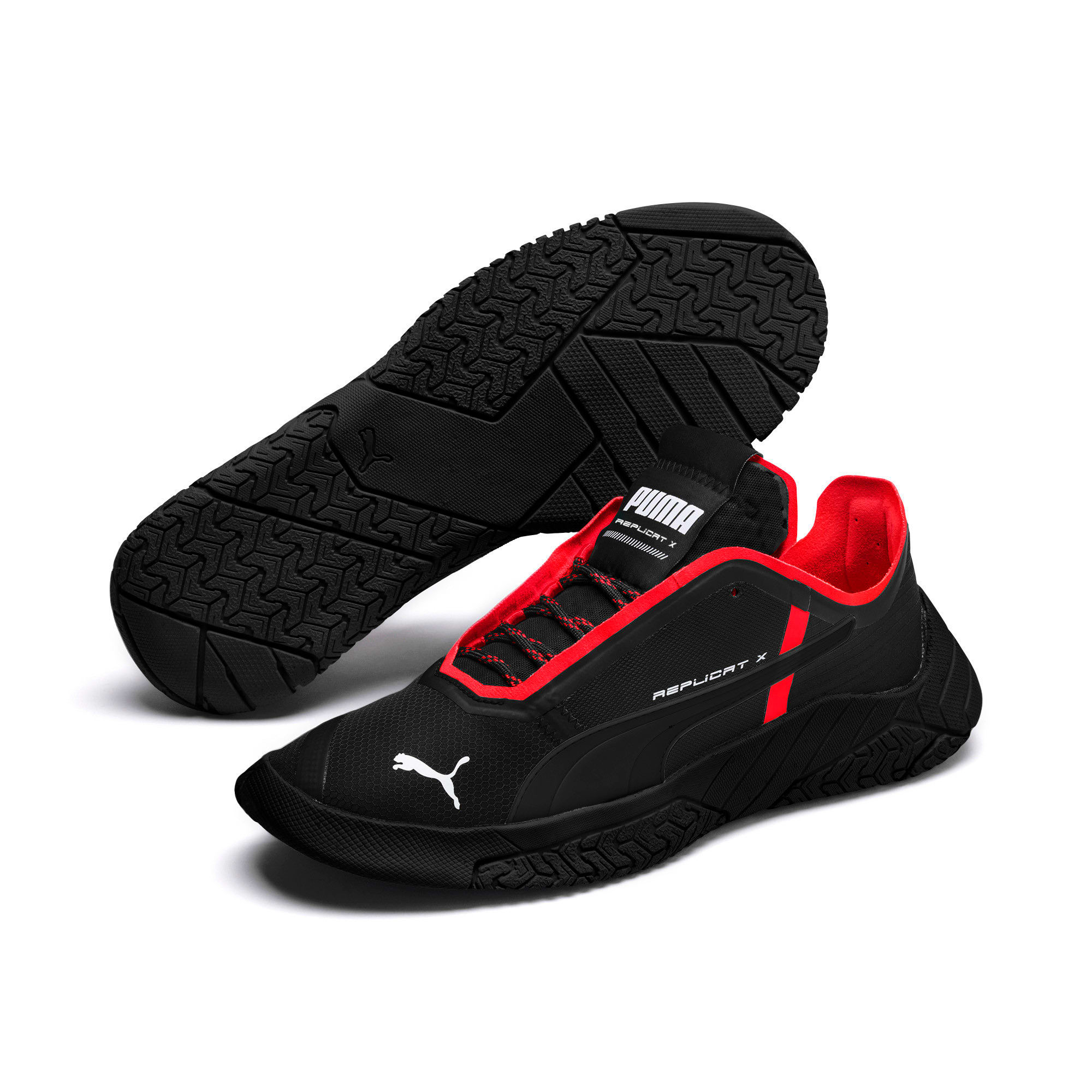 Thumbnail 2 of Replicat-X Circuit Trainers, Puma Black-Puma Red, medium