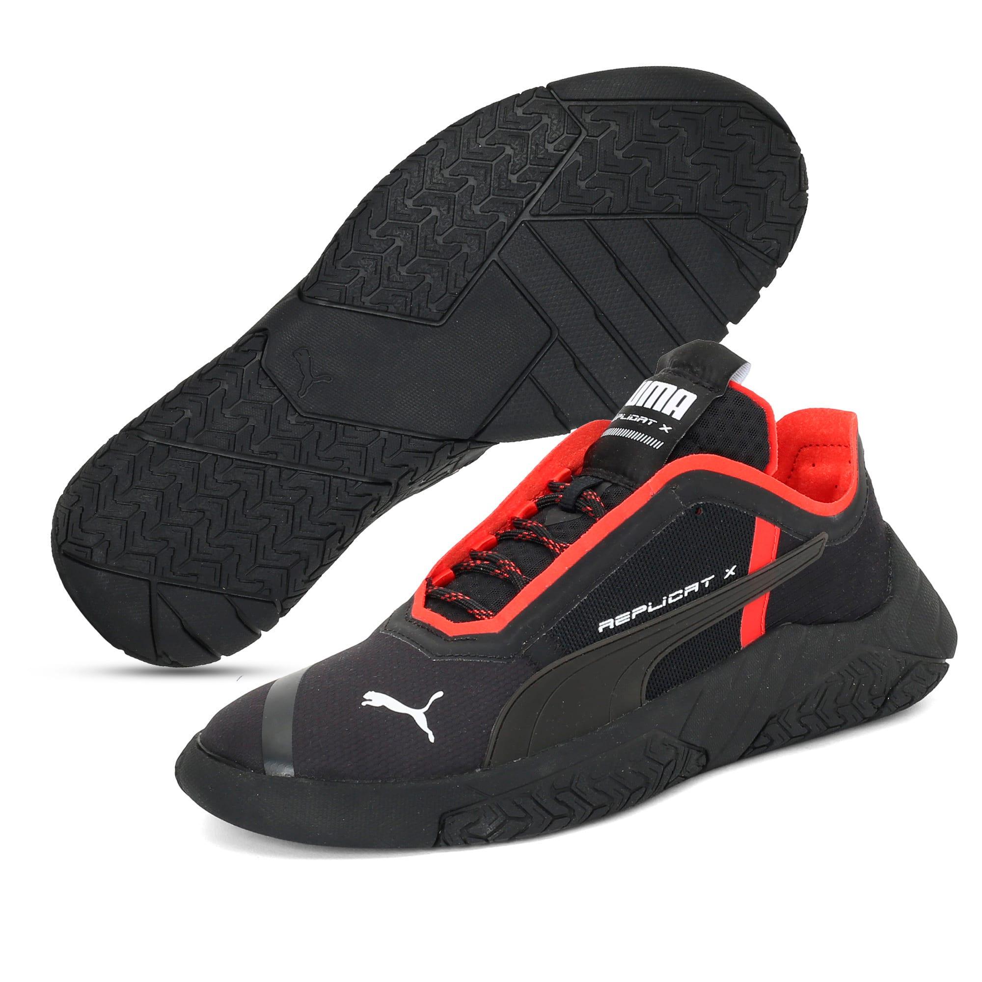 Thumbnail 3 of Replicat-X Circuit Trainers, Puma Black-Puma Red, medium-IND