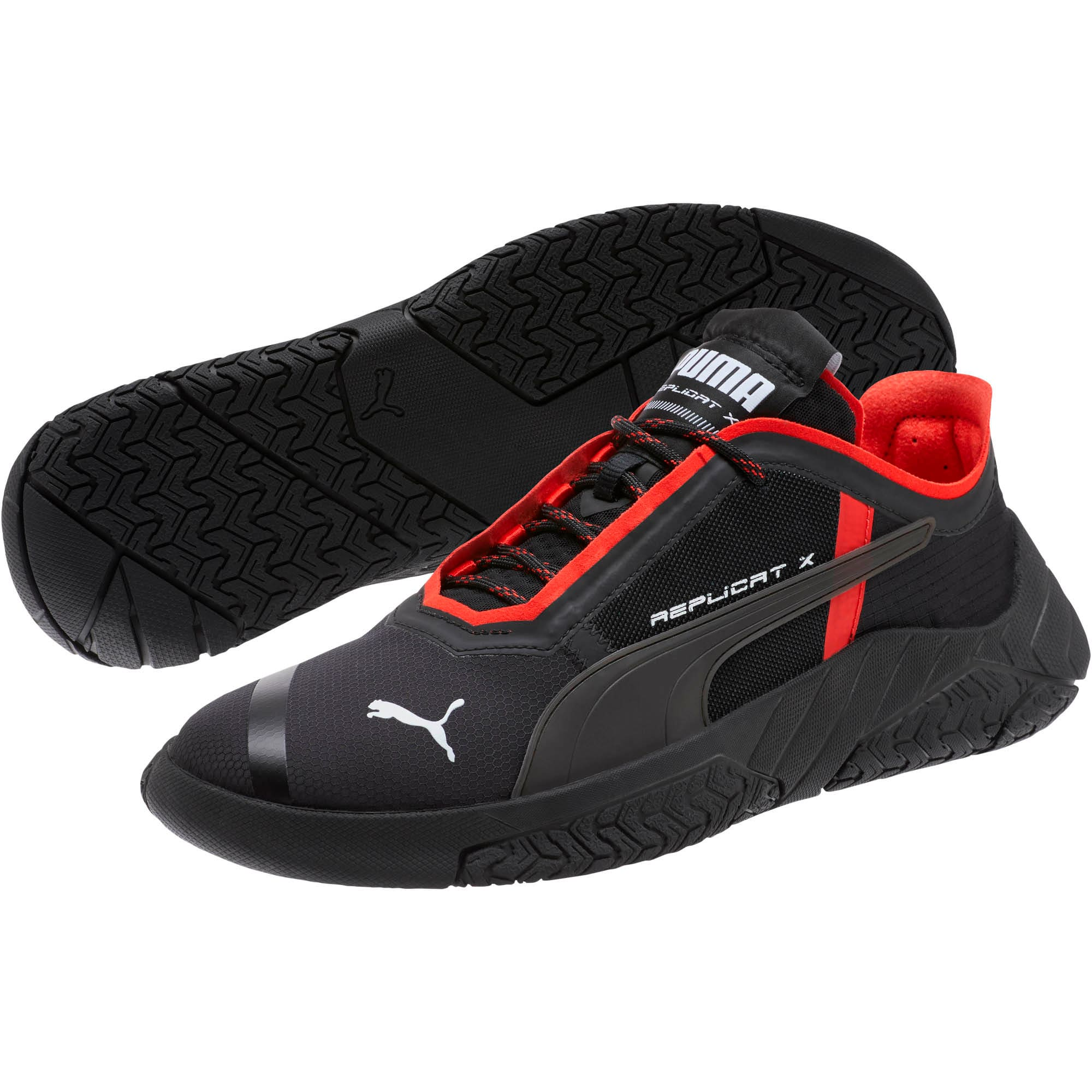 Thumbnail 2 of Replicat-X Circuit Motorsport Shoes, Puma Black-Puma Red, medium