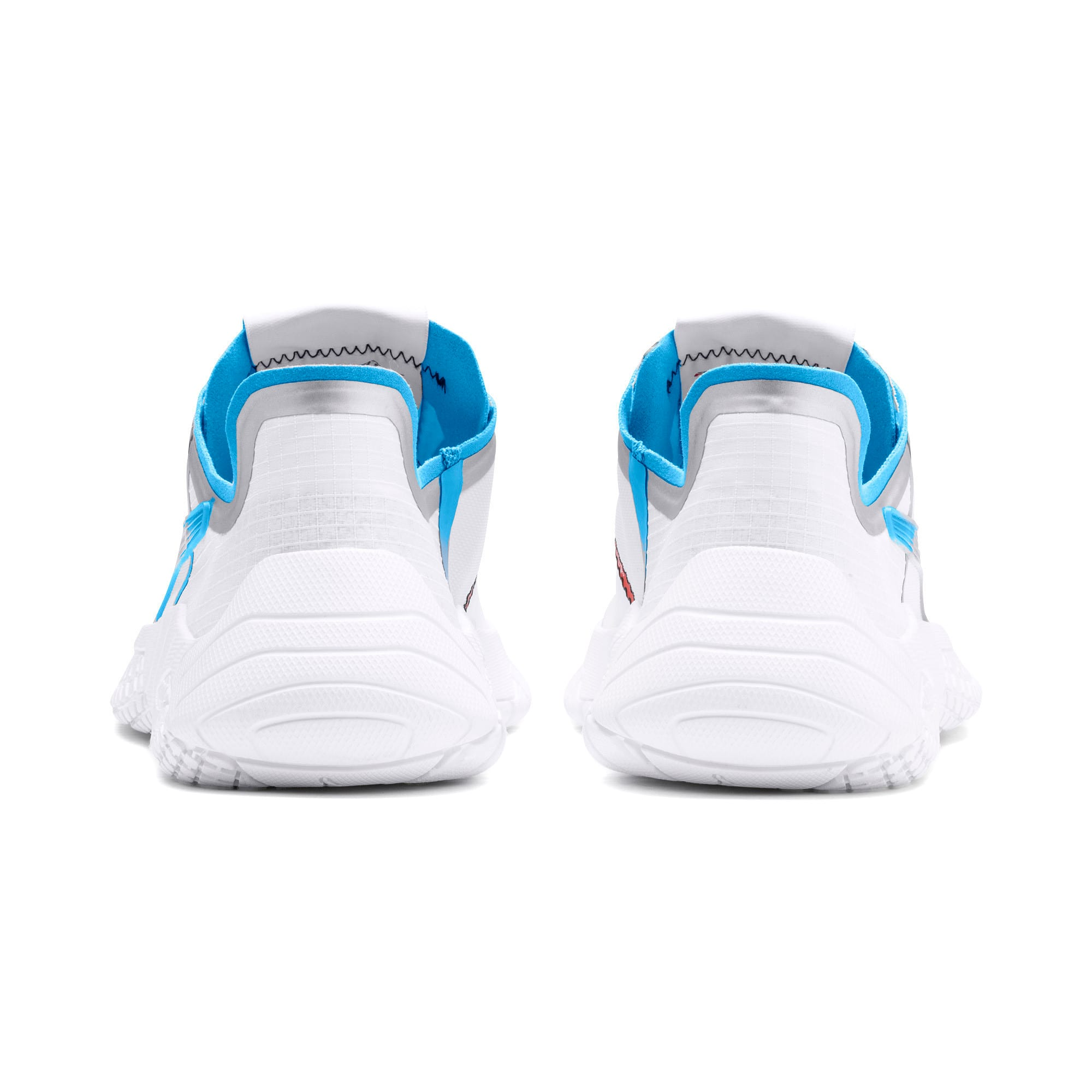Thumbnail 4 of Pirelli Replicat-X Trainers, Puma White-AZURE BLUE, medium