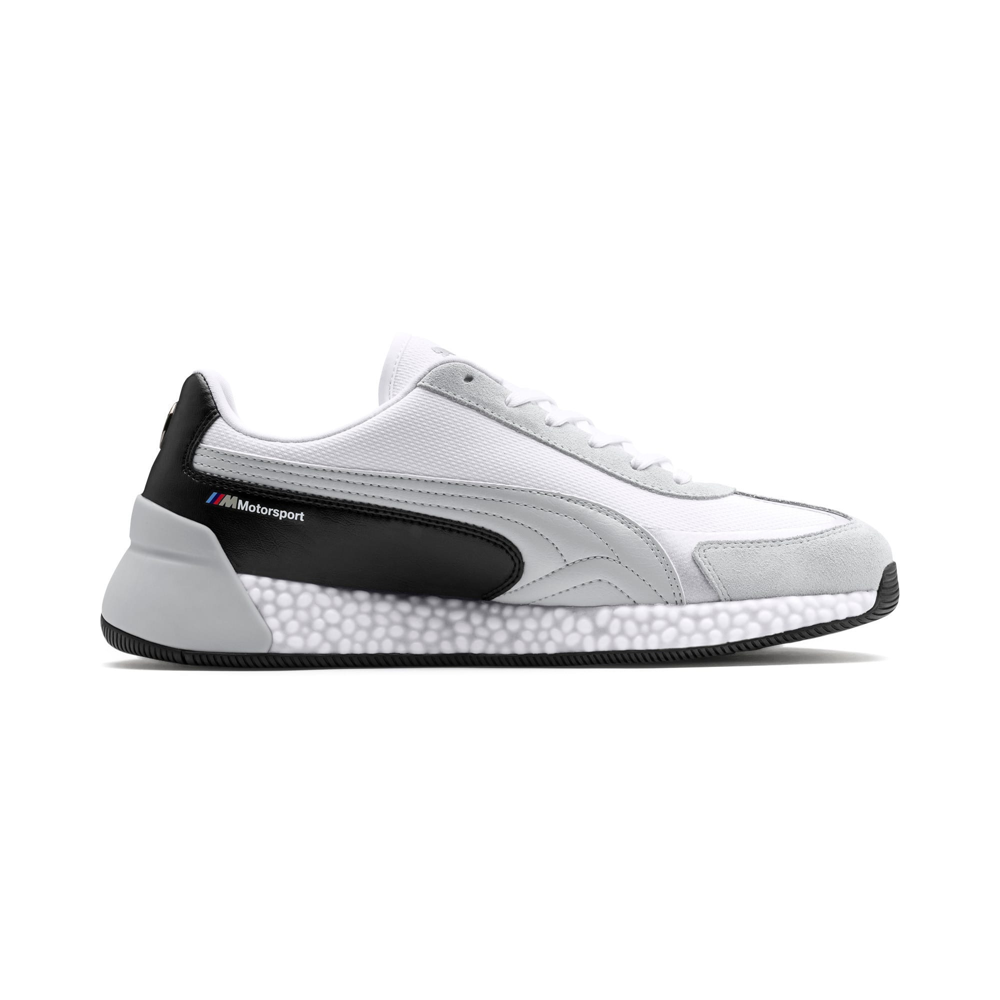 Thumbnail 6 of BMW M Motorsport Speed HYBRID Trainers, White-Glacier Gray-Black, medium