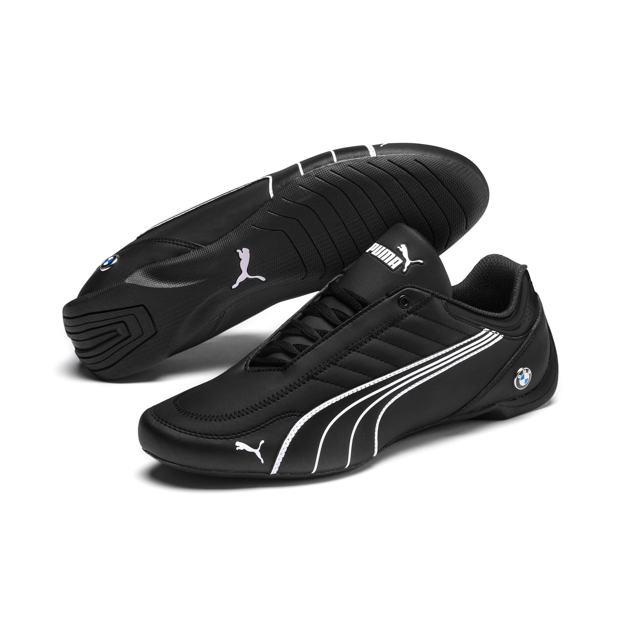 Thumbnail 4 of BMW M Motorsport Future Kart Cat Trainers, Puma Black-Puma White, medium-IND