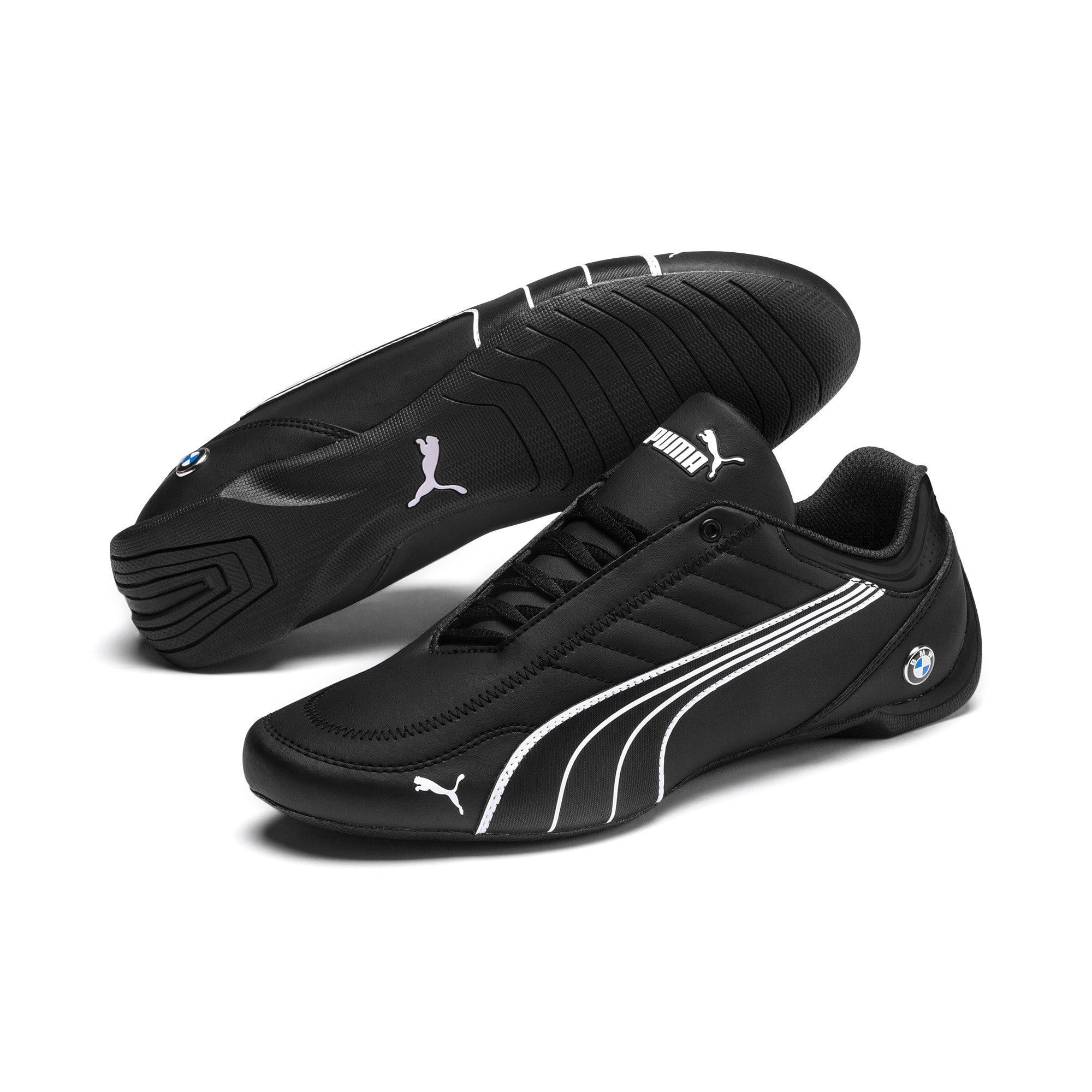 Thumbnail 3 of BMW M Motorsport Future Kart Cat Shoes, Puma Black-Puma White, medium