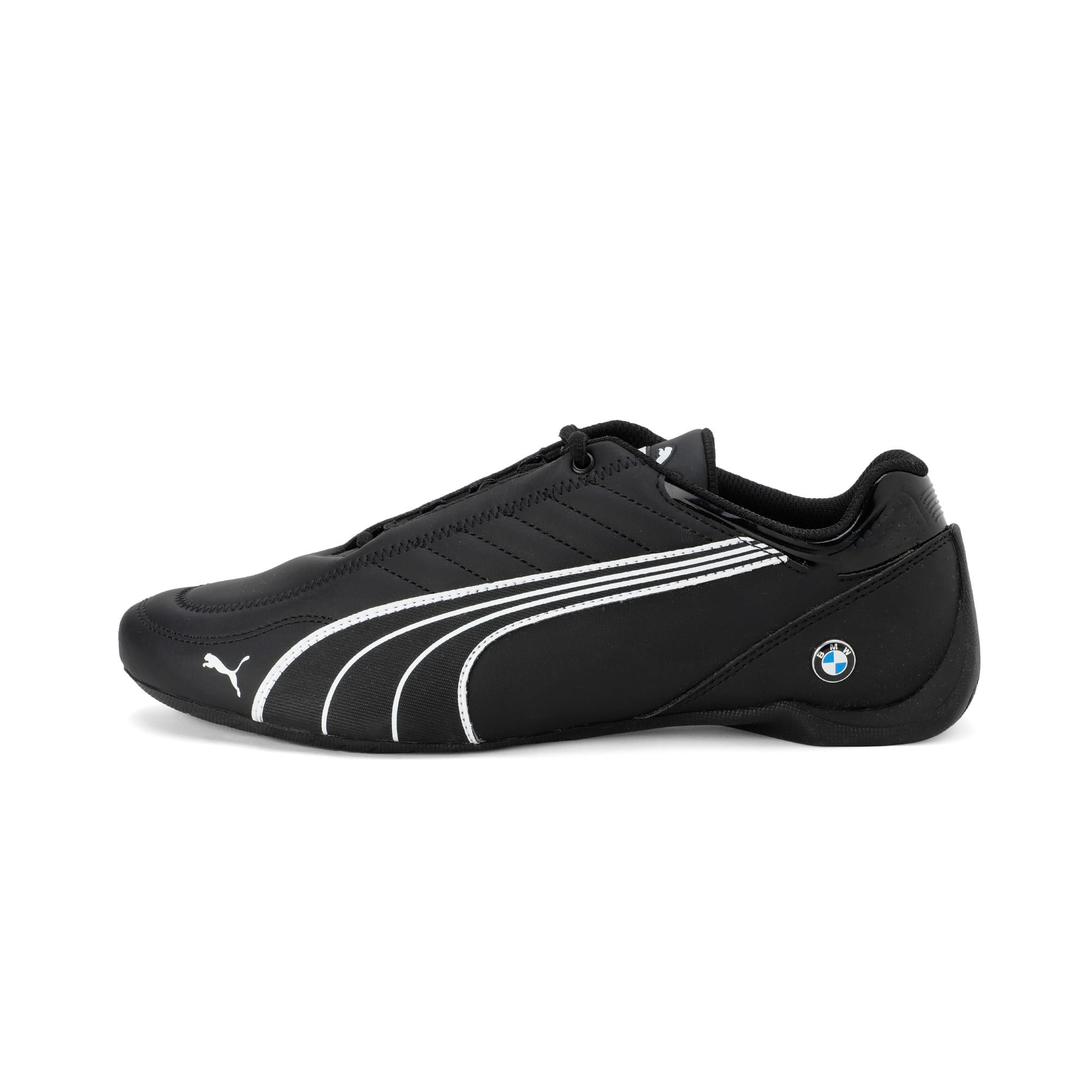 Thumbnail 1 of BMW M Motorsport Future Kart Cat Trainers, Puma Black-Puma White, medium-IND