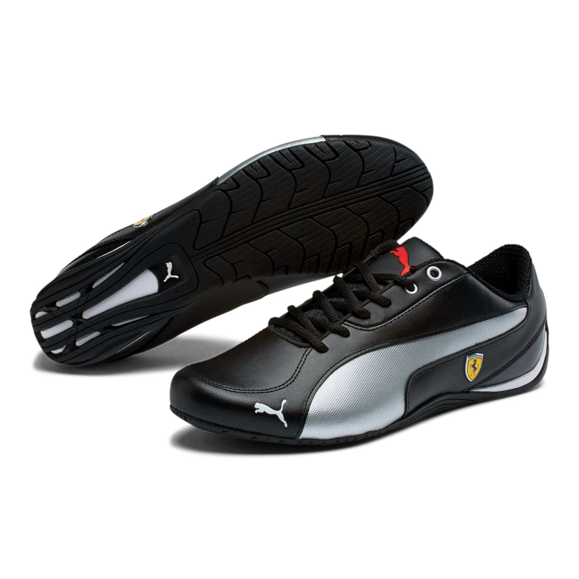 Thumbnail 2 of Scuderia Ferrari Drift Cat 5 NM Men's Shoes, Puma Black-Puma Black, medium