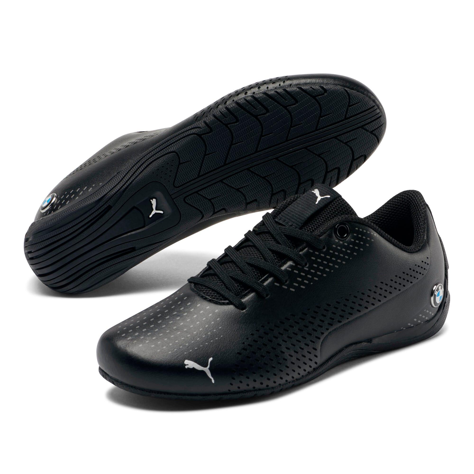 Thumbnail 2 of BMW M Motorsport Drift Cat 5 Ultra II Shoes JR, Puma Black-Puma Black, medium