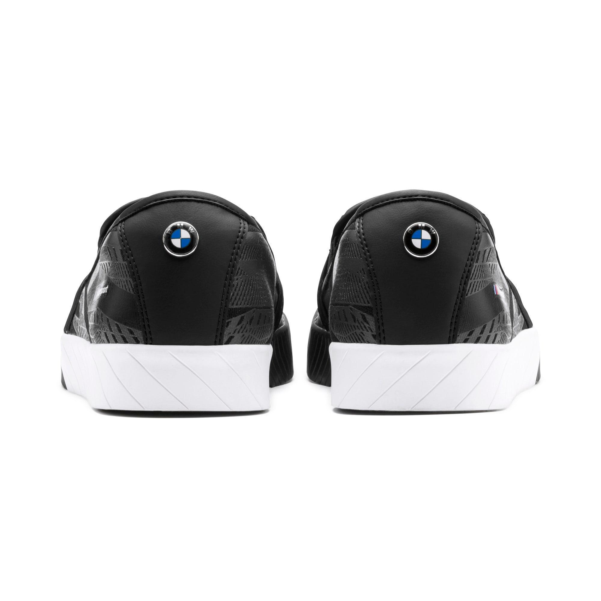 Thumbnail 5 of BMW M Slip-On Track Shoes, Puma Black-Puma Black, medium-IND