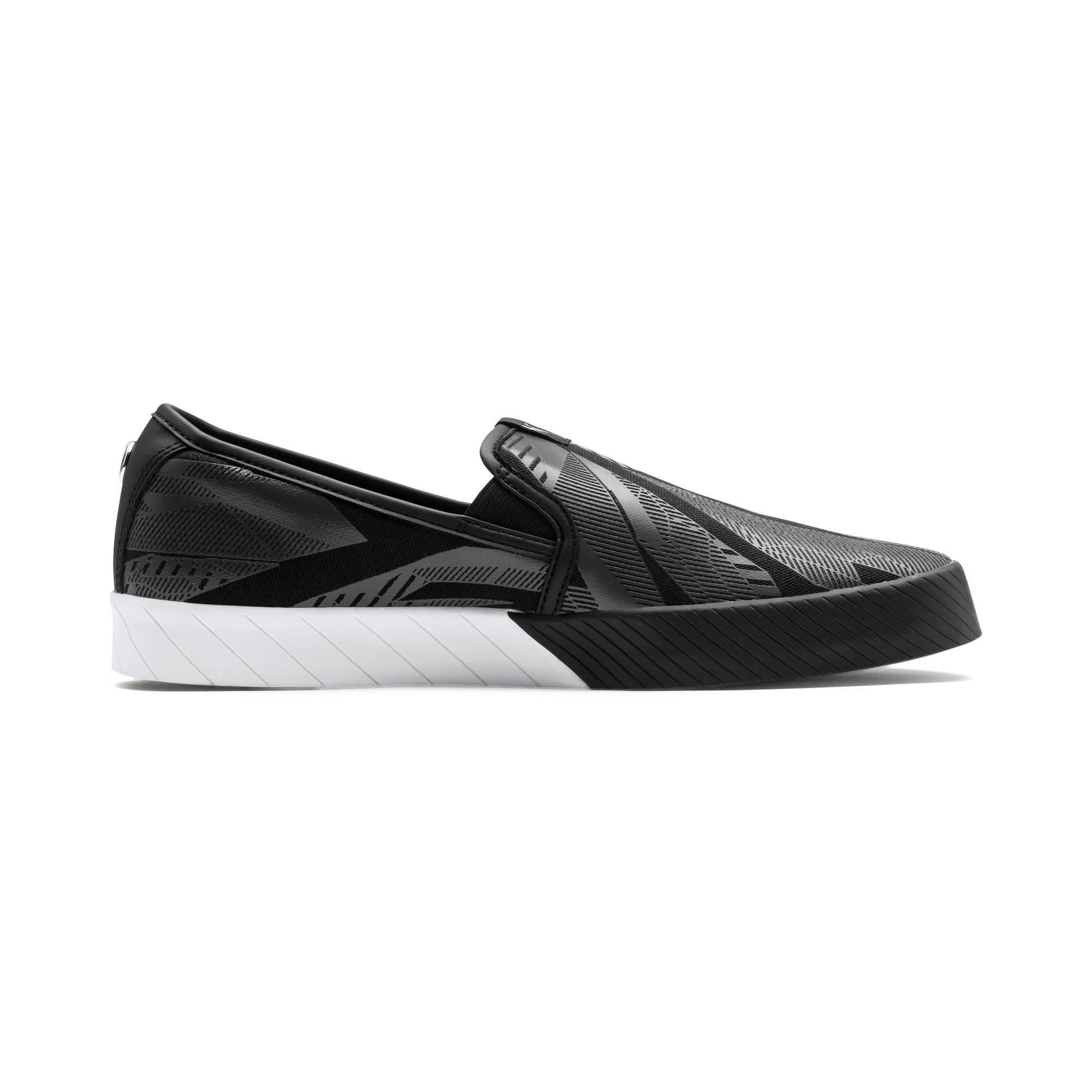 Thumbnail 7 of BMW M Slip-On Track Shoes, Puma Black-Puma Black, medium-IND