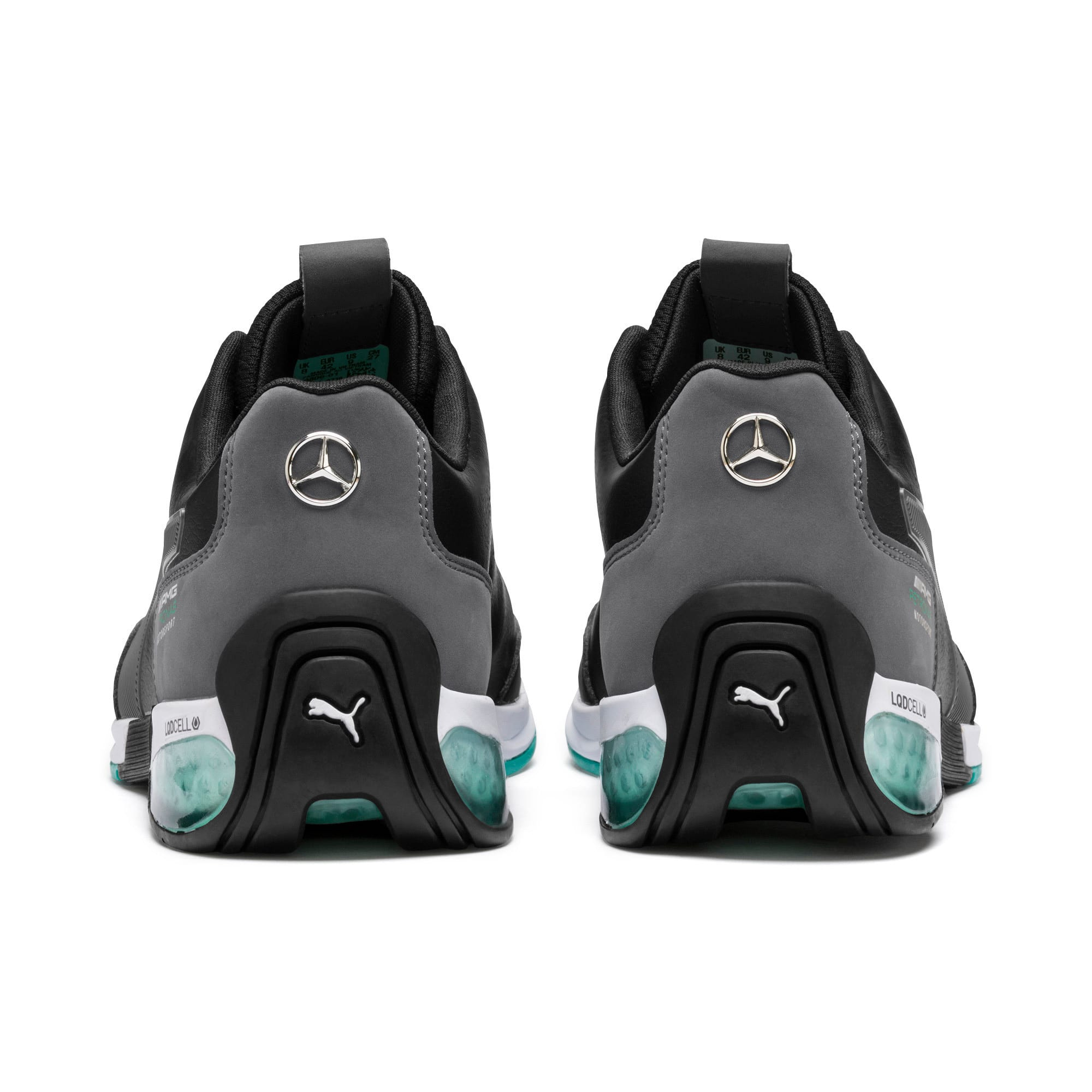 Thumbnail 4 of Mercedes AMG Petronas Motorsport Kart Cat X Trainers, Puma Black-Smoked Pearl, medium