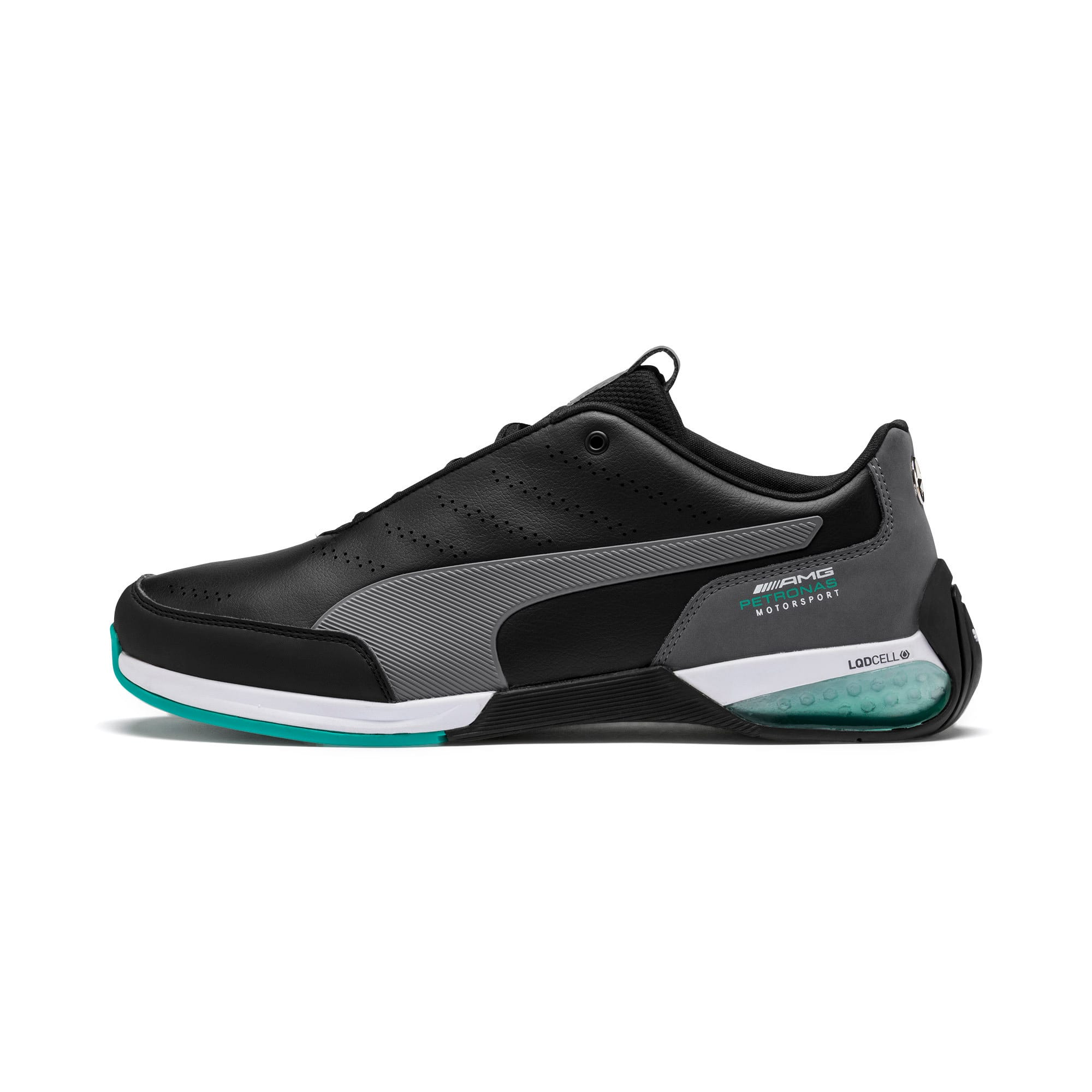 Thumbnail 1 of Mercedes AMG Petronas Motorsport Kart Cat X Trainers, Puma Black-Smoked Pearl, medium