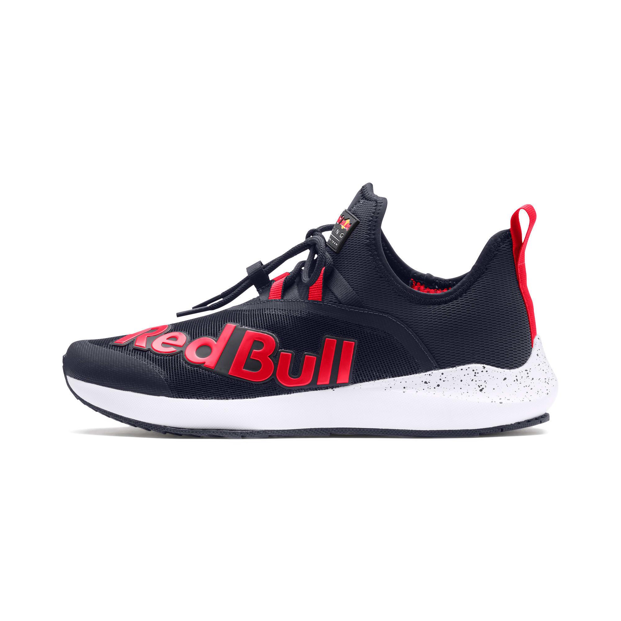 Thumbnail 1 of Red Bull Racing Evo Cat II IGNITE Trainers, NIGHT SKY-Chinese Red-White, medium