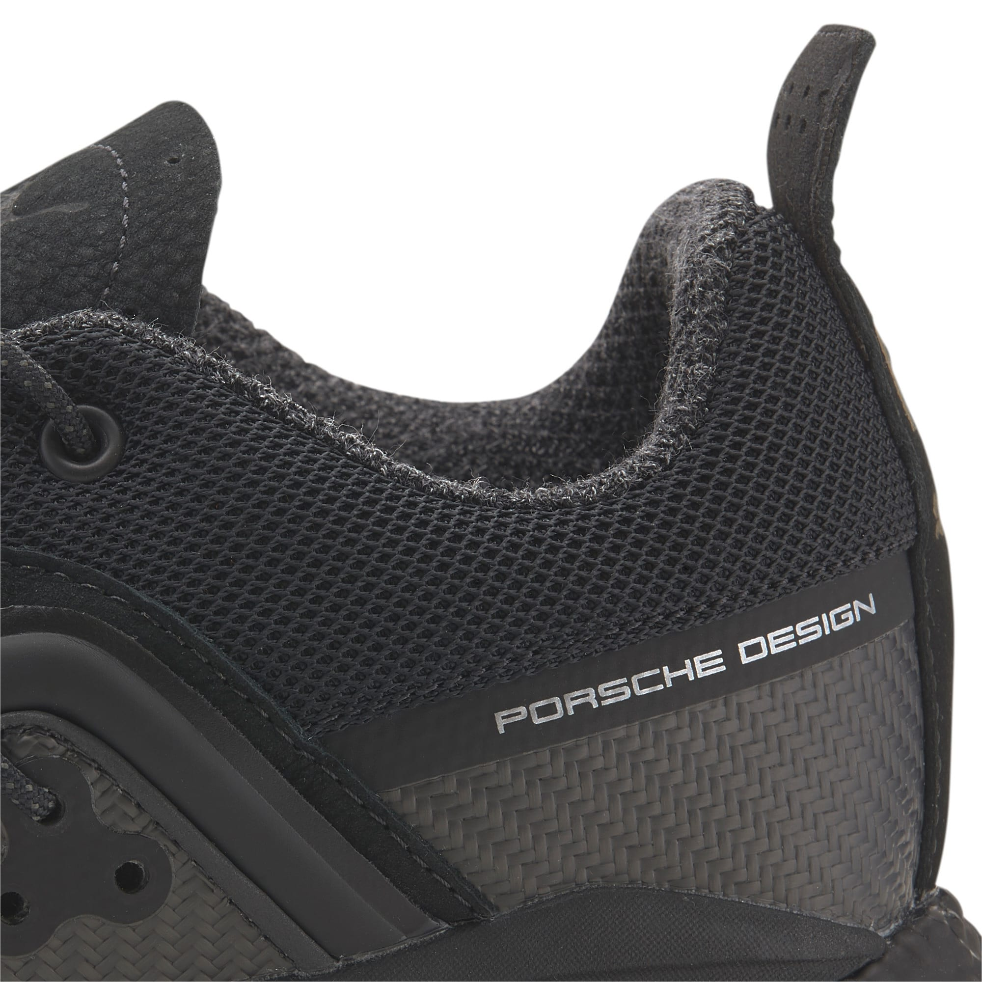 Thumbnail 8 of Porsche Design HYBRID Runner Men's Trainers, Jet Black-Jet Black, medium