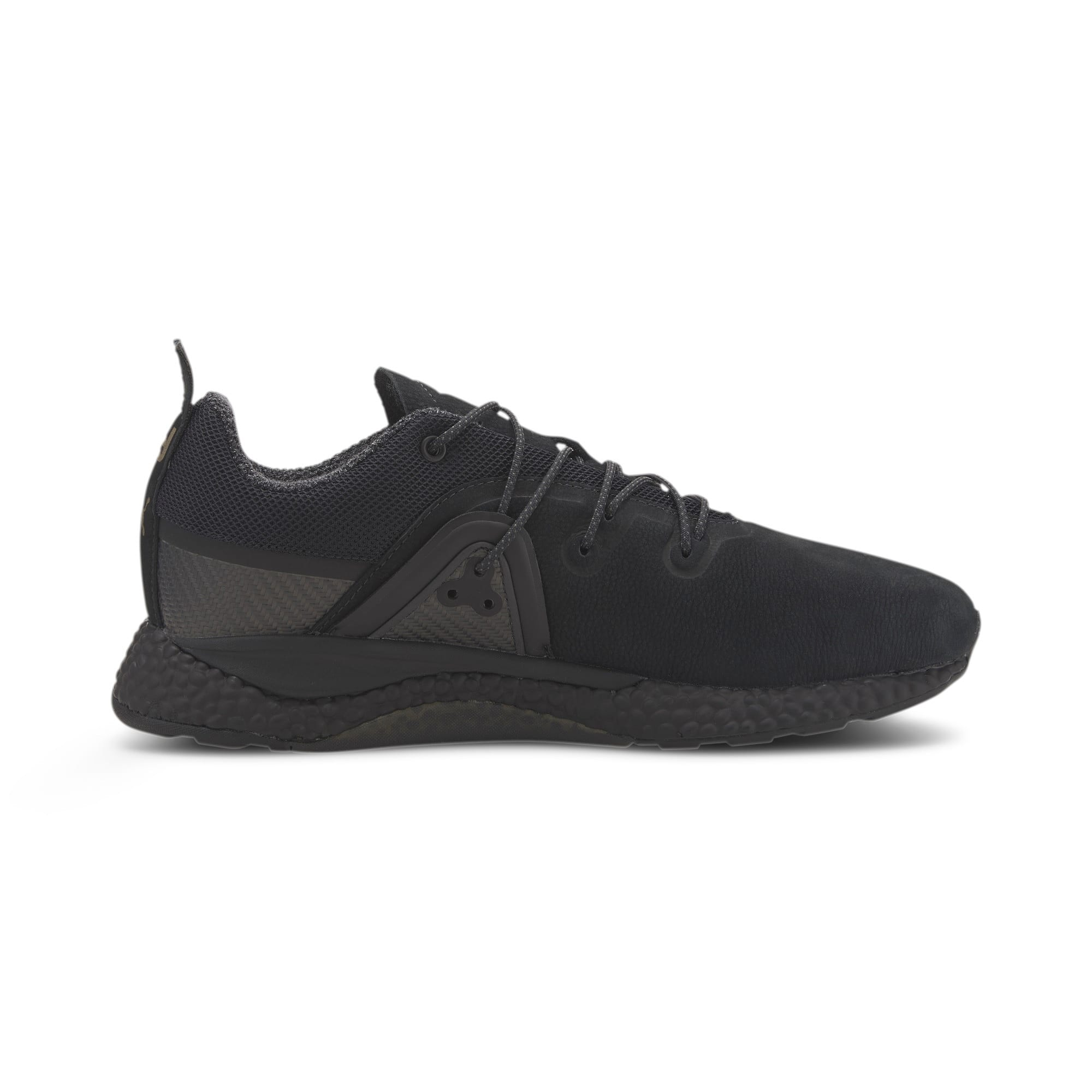Thumbnail 6 of Porsche Design HYBRID Runner Men's Trainers, Jet Black-Jet Black, medium