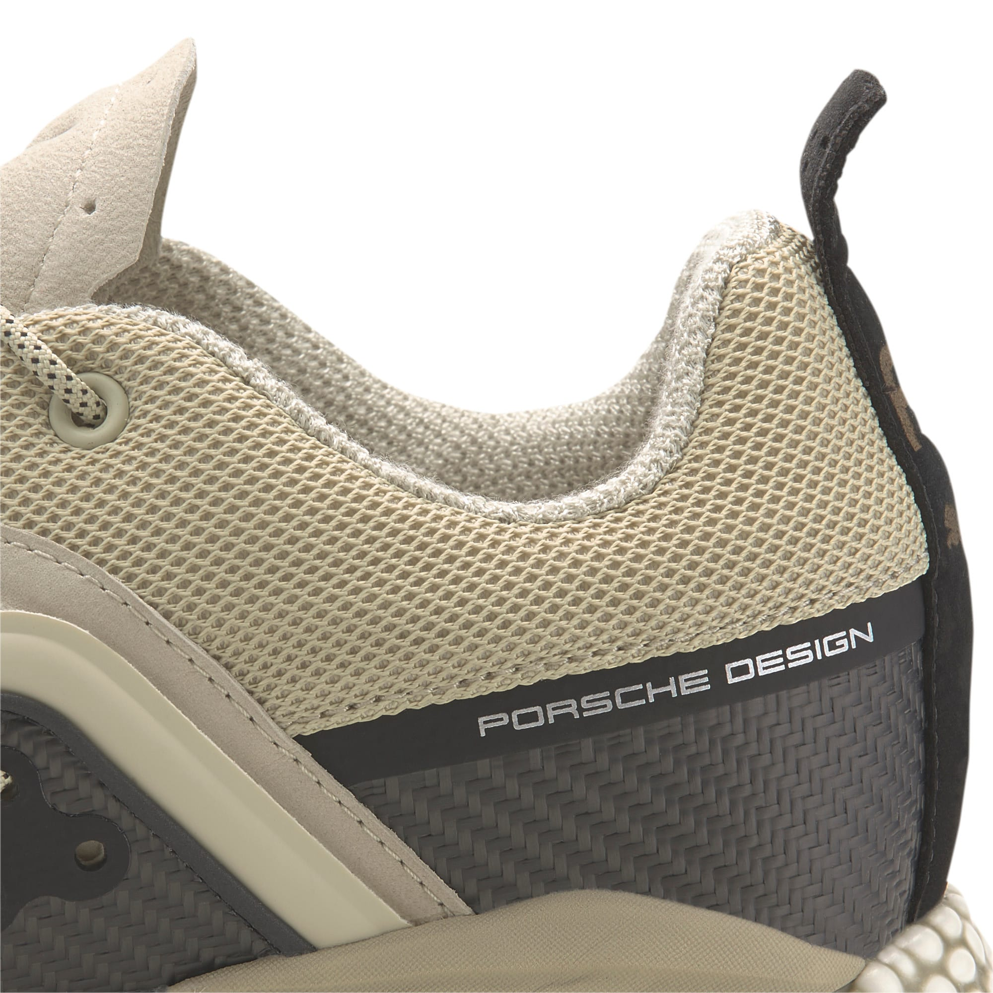 Thumbnail 8 of Porsche Design HYBRID Runner Men's Trainers, Overcast-Jet Black, medium