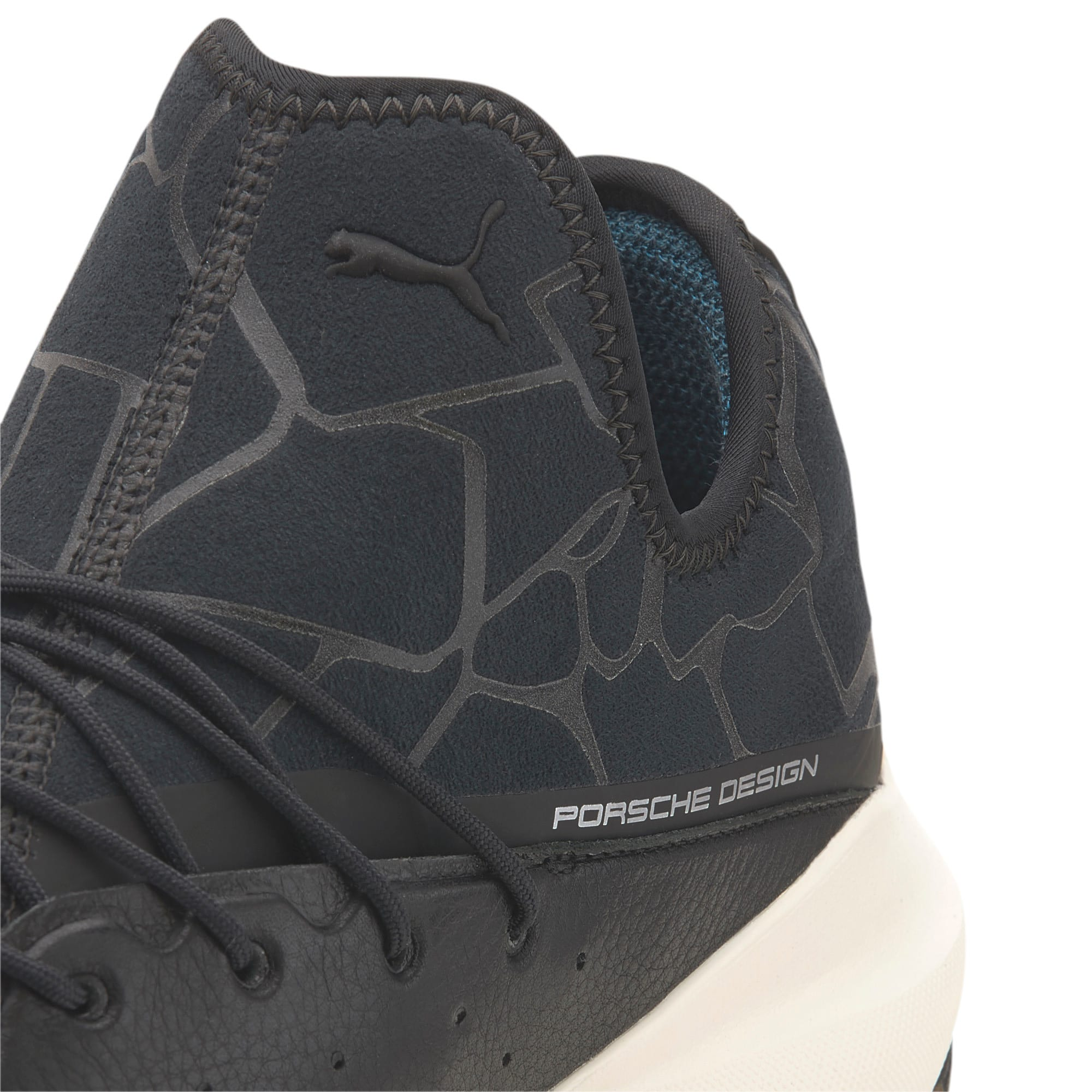 Thumbnail 8 of Porsche Design Evo Cat II Men's Trainers, JetBlack-JetBlack-WhisperWht, medium