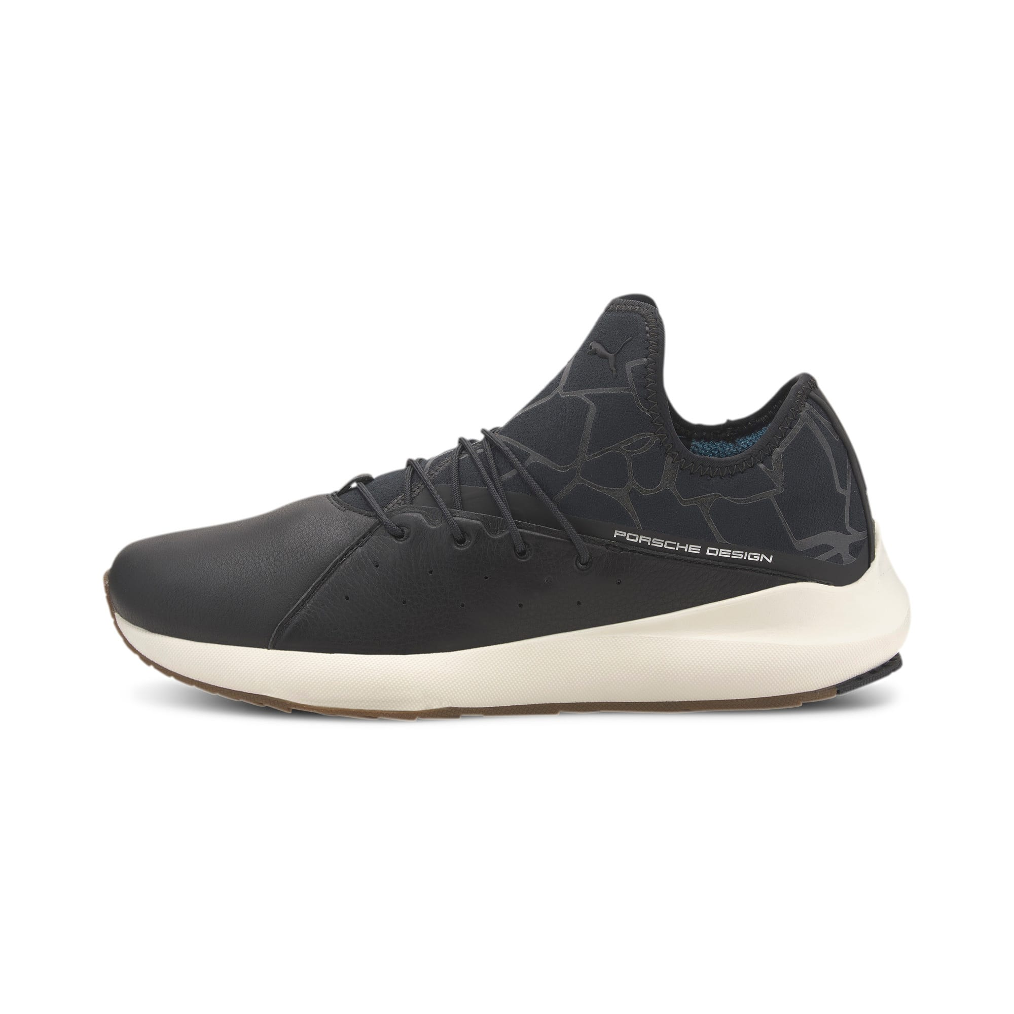 Thumbnail 1 of Porsche Design Evo Cat II Men's Trainers, JetBlack-JetBlack-WhisperWht, medium