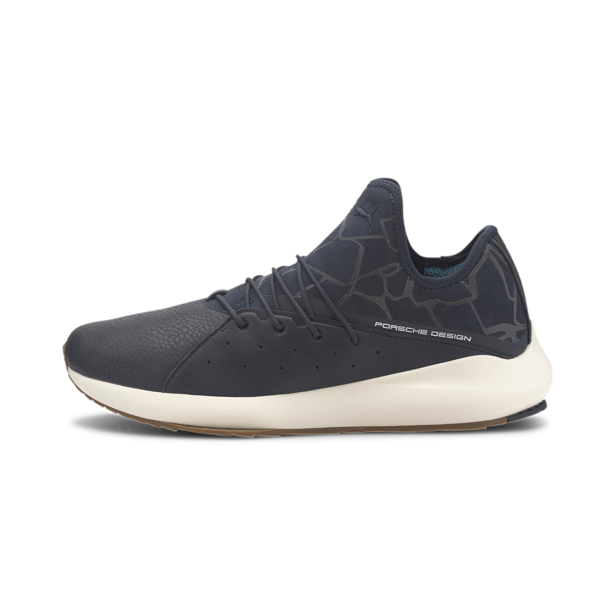 Thumbnail 1 of Porsche Design Evo Cat II Men's Trainers, Navy Blazer-Navy-WhisperW, medium