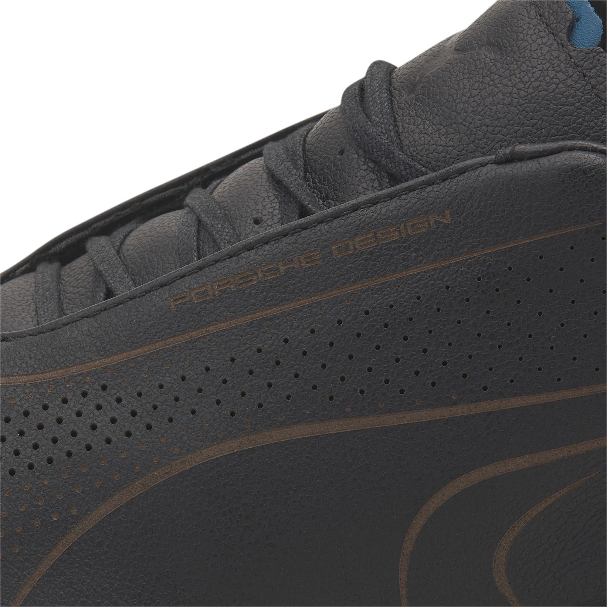 Thumbnail 8 of Porsche Design Speed Jamming Men's Trainers, Jet Black-Blue Turquoise, medium