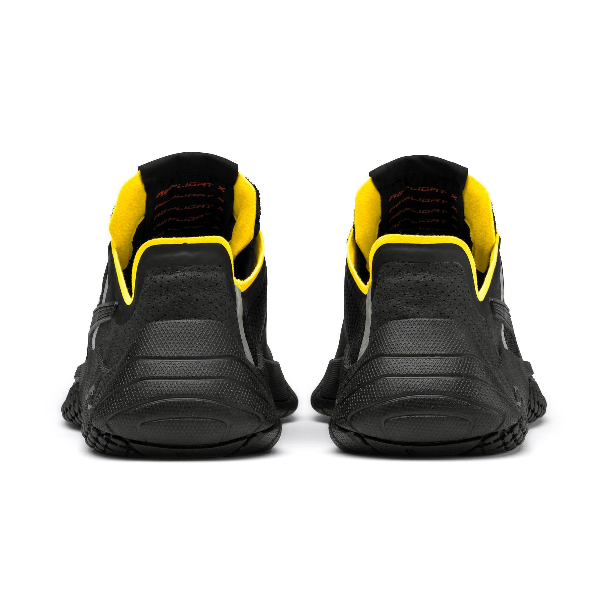 Thumbnail 3 of Replicat-X Pirelli Motorsport Shoes, Black-Black-Cyber Yellow, medium