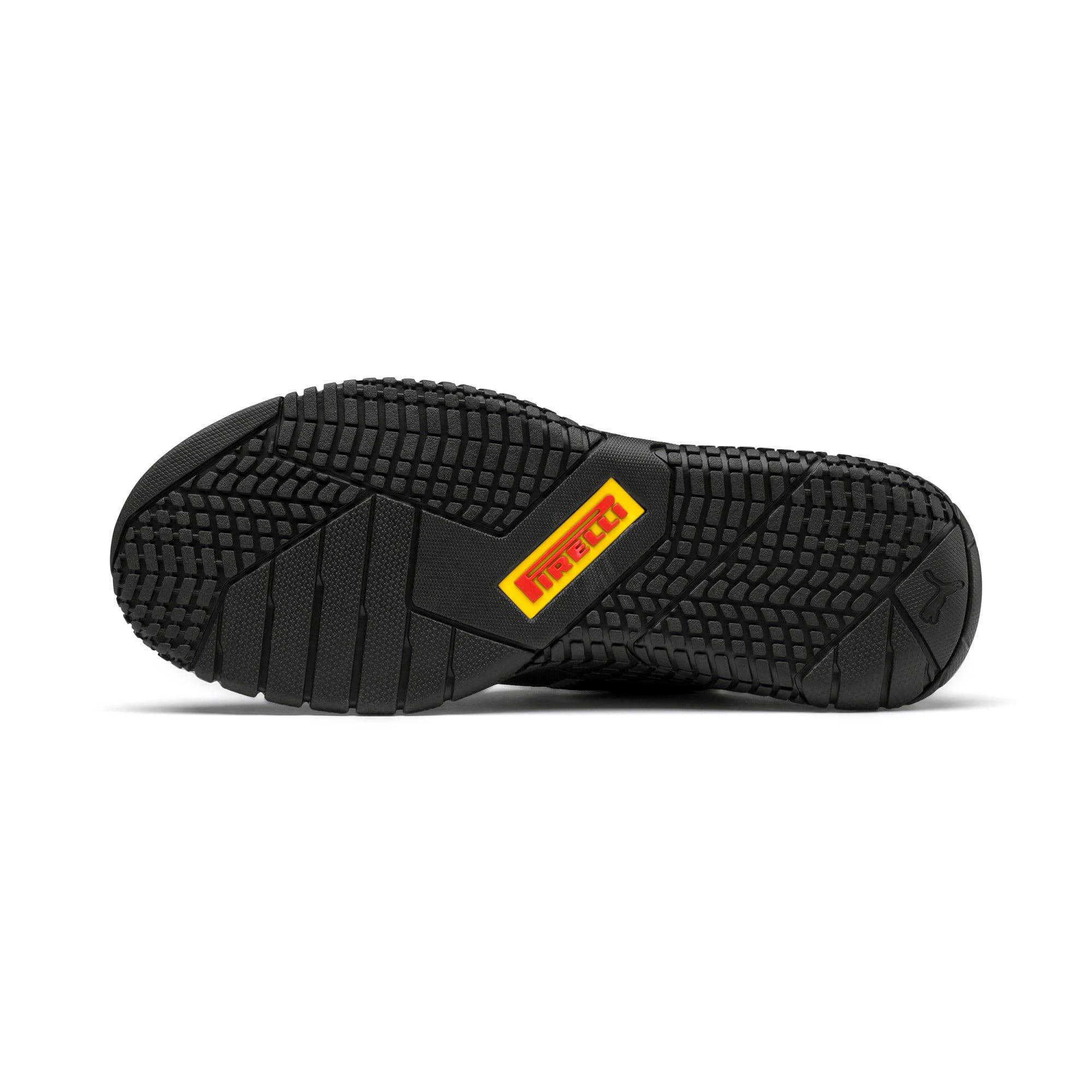 Thumbnail 4 of Replicat-X Pirelli Motorsport Shoes, Black-Black-Cyber Yellow, medium