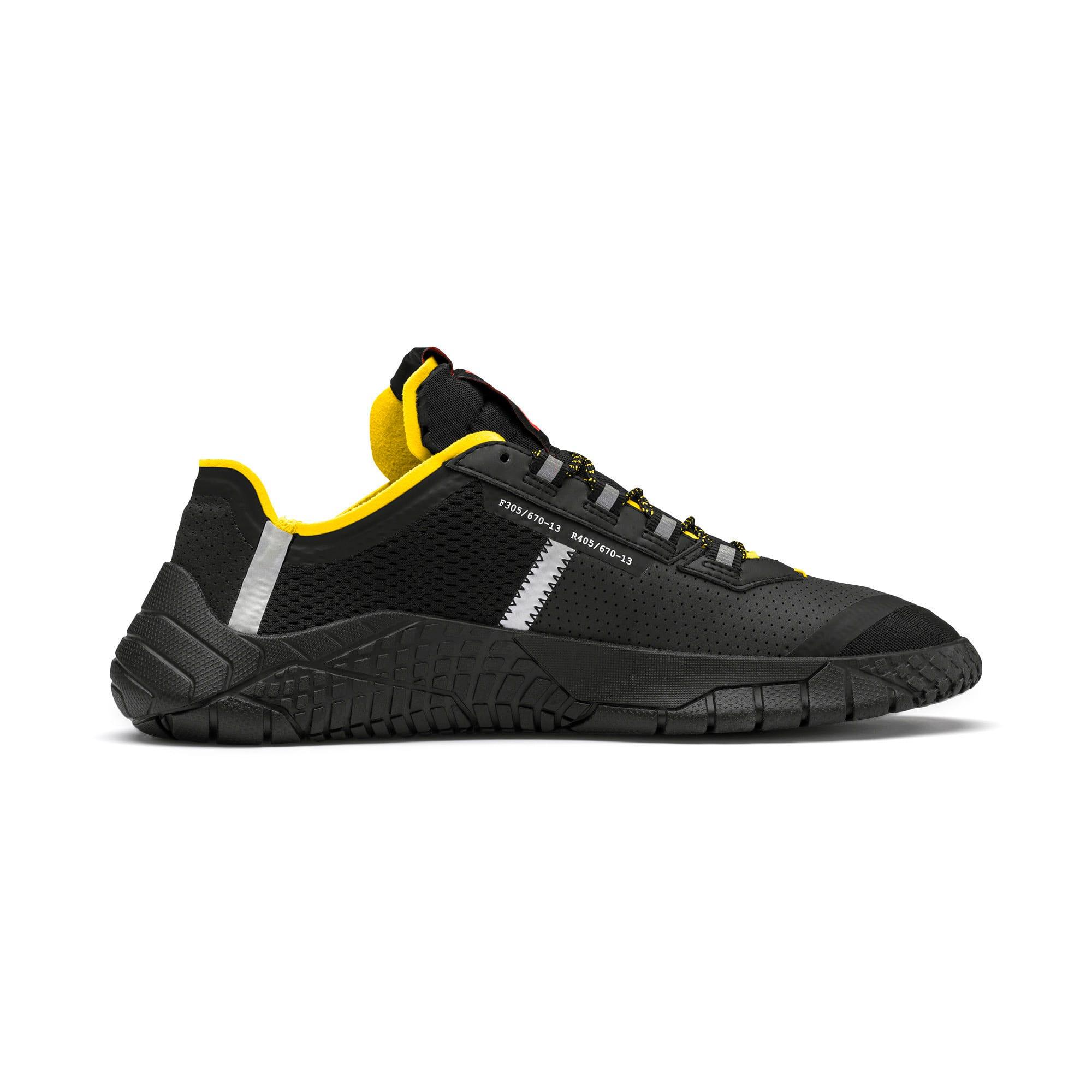 Thumbnail 5 of Pirelli Replicat-X Trainers, Black-Black-Cyber Yellow, medium
