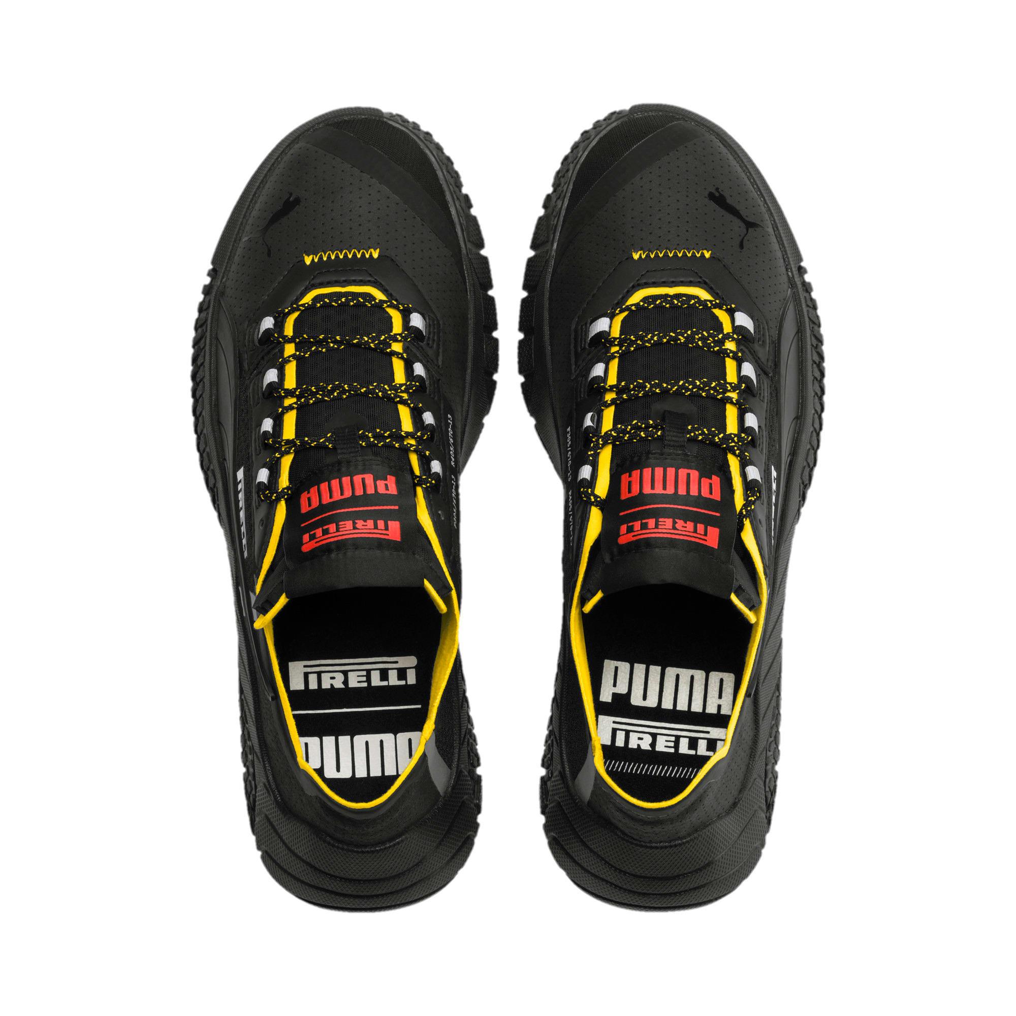 Thumbnail 6 of Replicat-X Pirelli Motorsport Shoes, Black-Black-Cyber Yellow, medium
