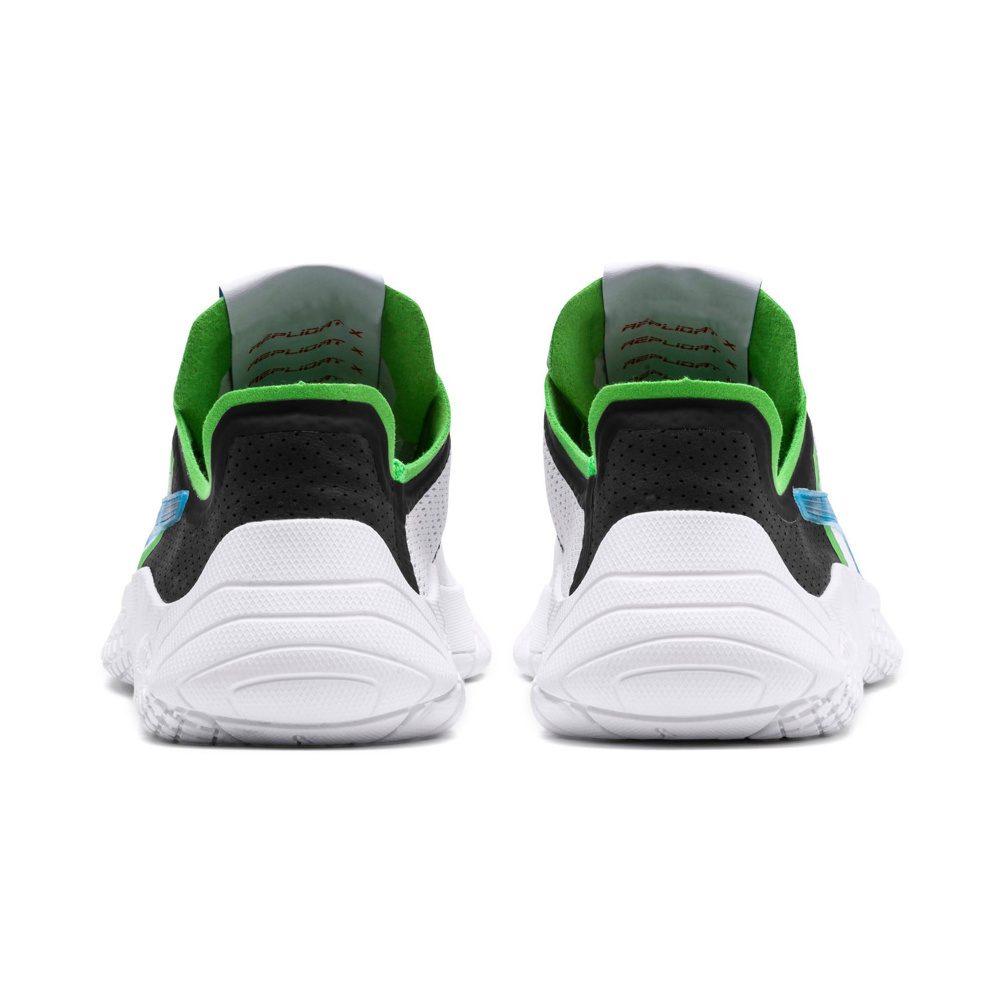 Thumbnail 4 of Replicat-X Pirelli Motorsport Shoes, White-Black-Classic Green, medium