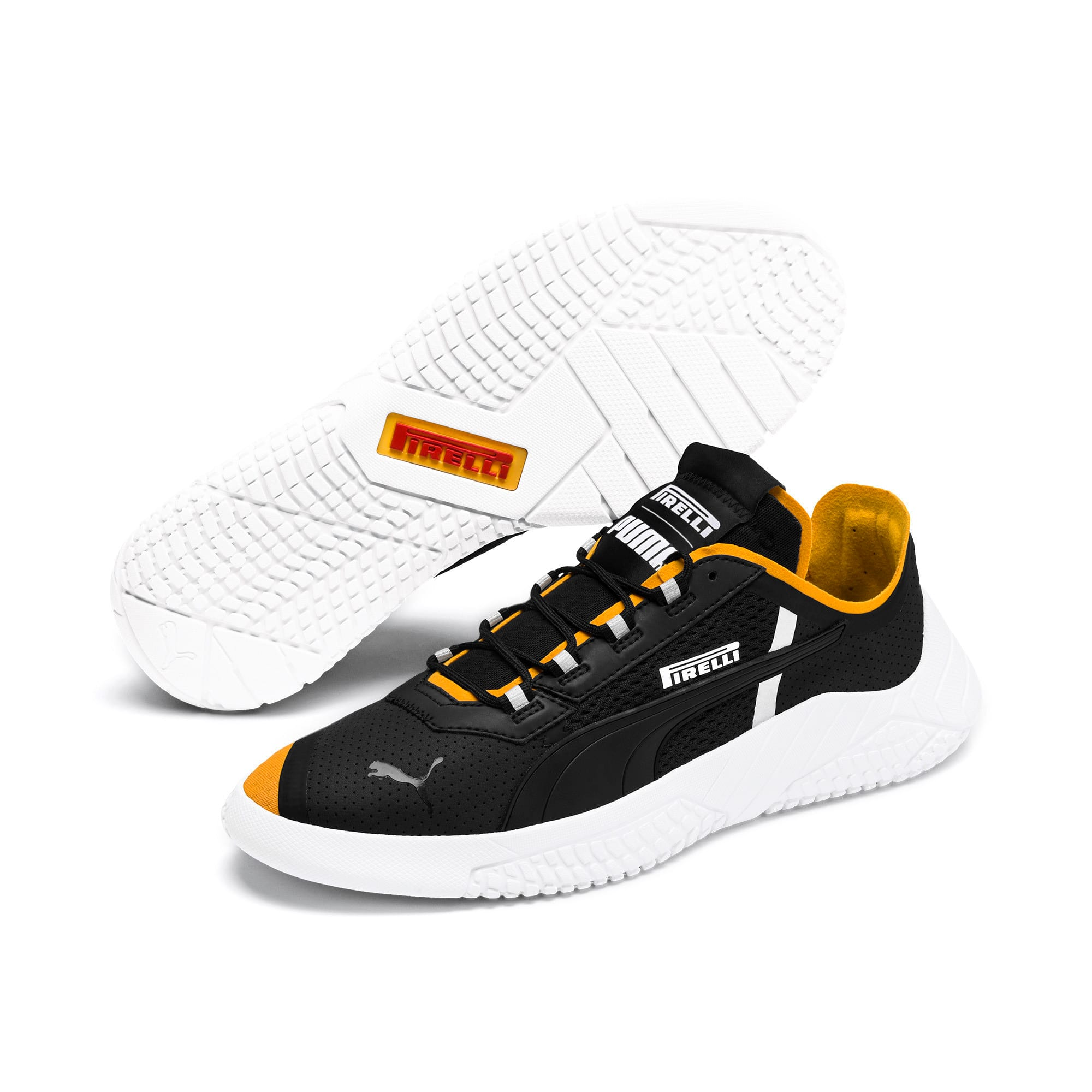 Thumbnail 3 of Scarpe da ginnastica Pirelli Replicat-X, Puma Black-Puma White-Zinnia, medium