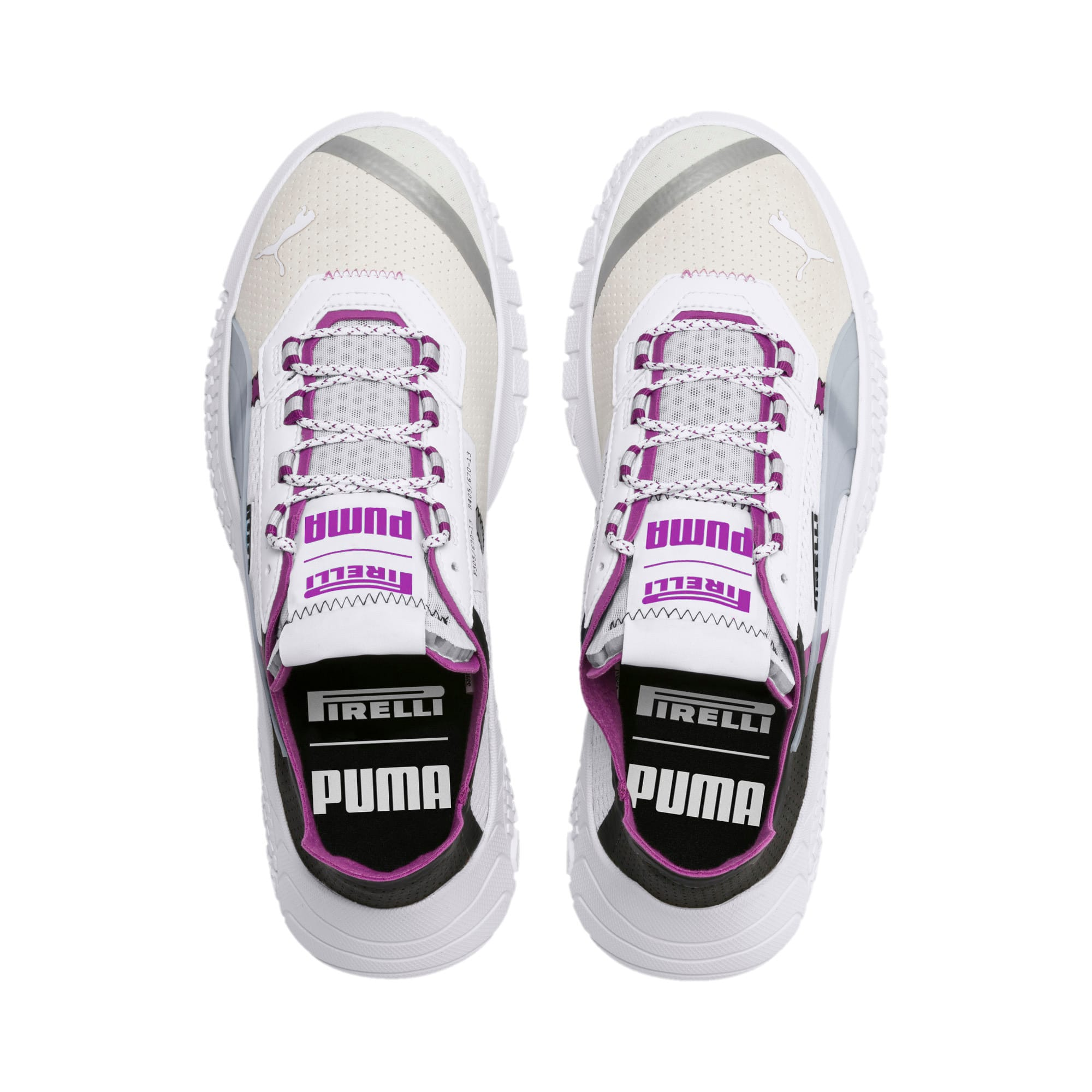 Thumbnail 7 of Scarpe da ginnastica Pirelli Replicat-X, White-Hyacinth Viol-Red, medium