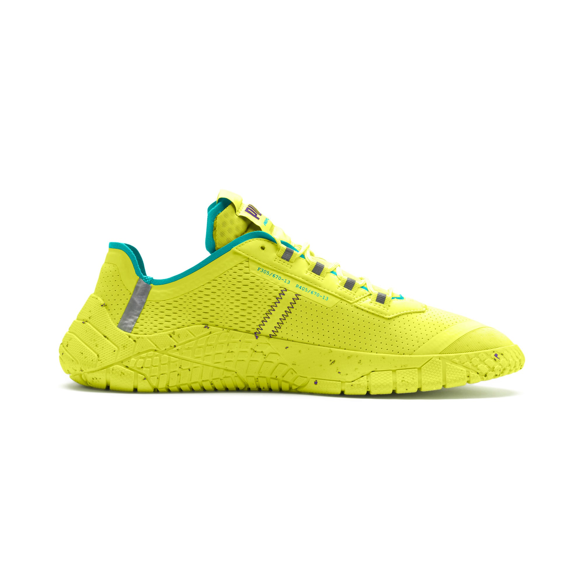 Thumbnail 5 of Replicat-X Fluro Trainers, Fzy Ylw-Blu Trqse-Prpl Glmr, medium