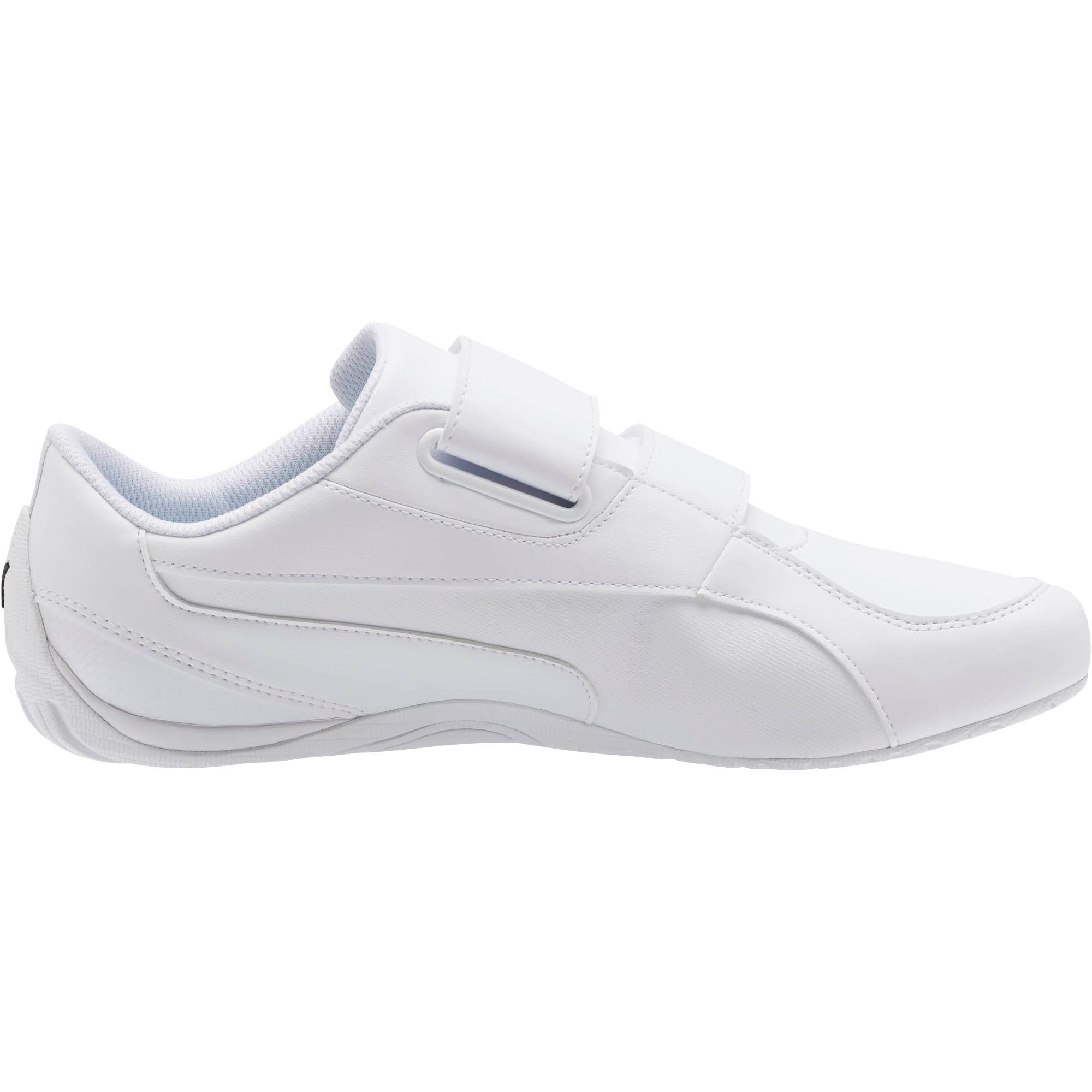 Drift Cat 5 AC Shoes, Puma White-Puma White, large