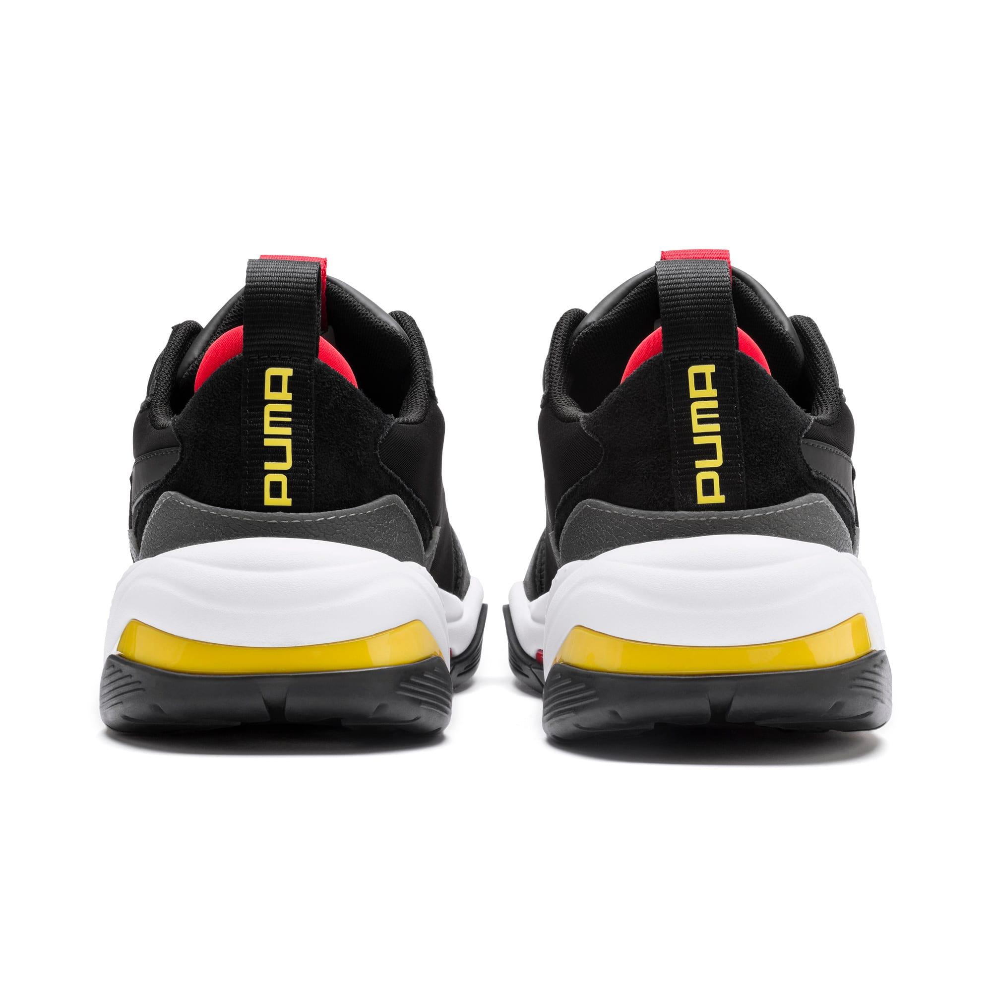 Thumbnail 3 of Ferrari Thunder Trainers, Puma Black-Rosso Corsa, medium