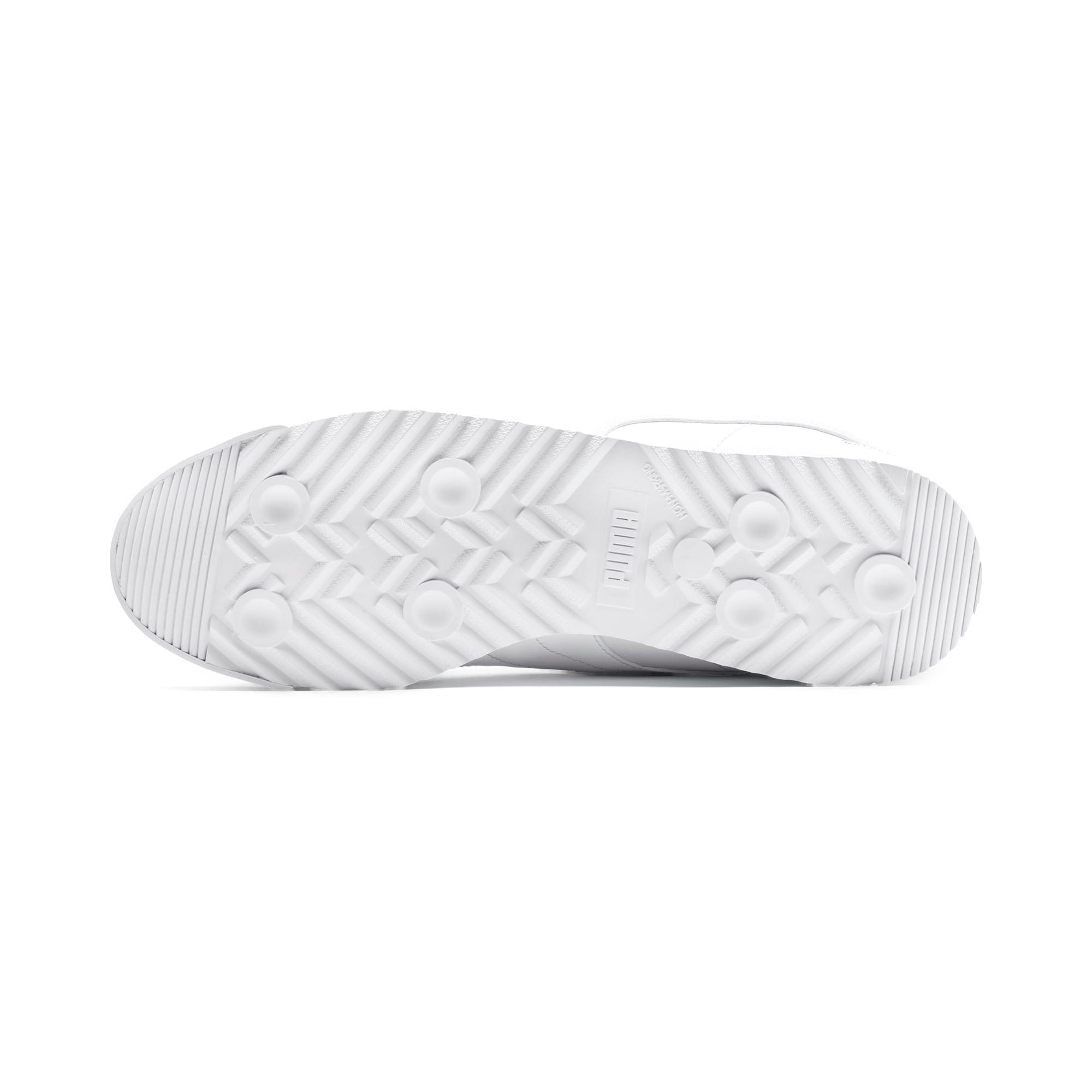 Thumbnail 5 of Mercedes AMG Petronas Roma Men's Sneakers, Puma White-Puma White, medium