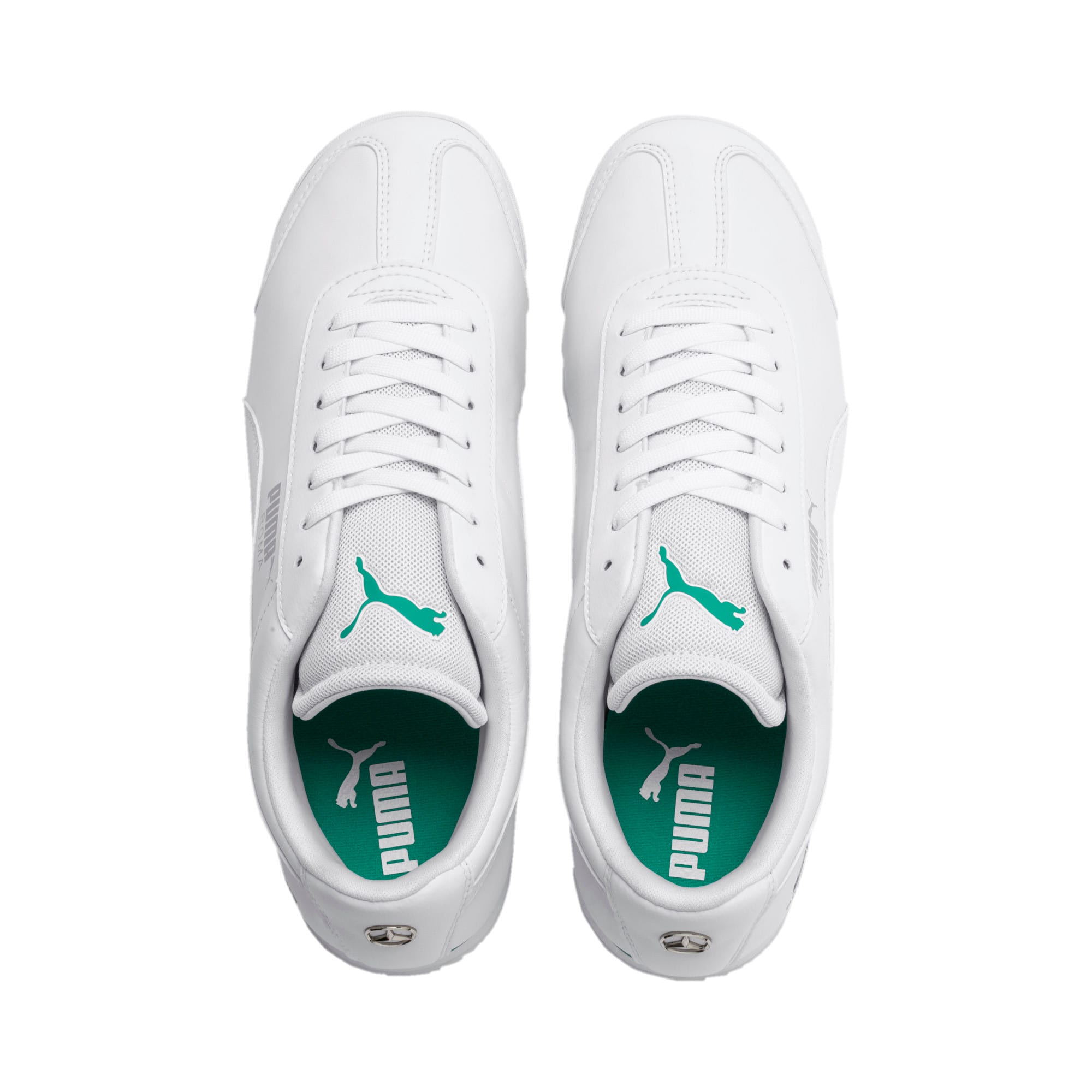 Thumbnail 7 of Mercedes AMG Petronas Roma Men's Sneakers, Puma White-Puma White, medium